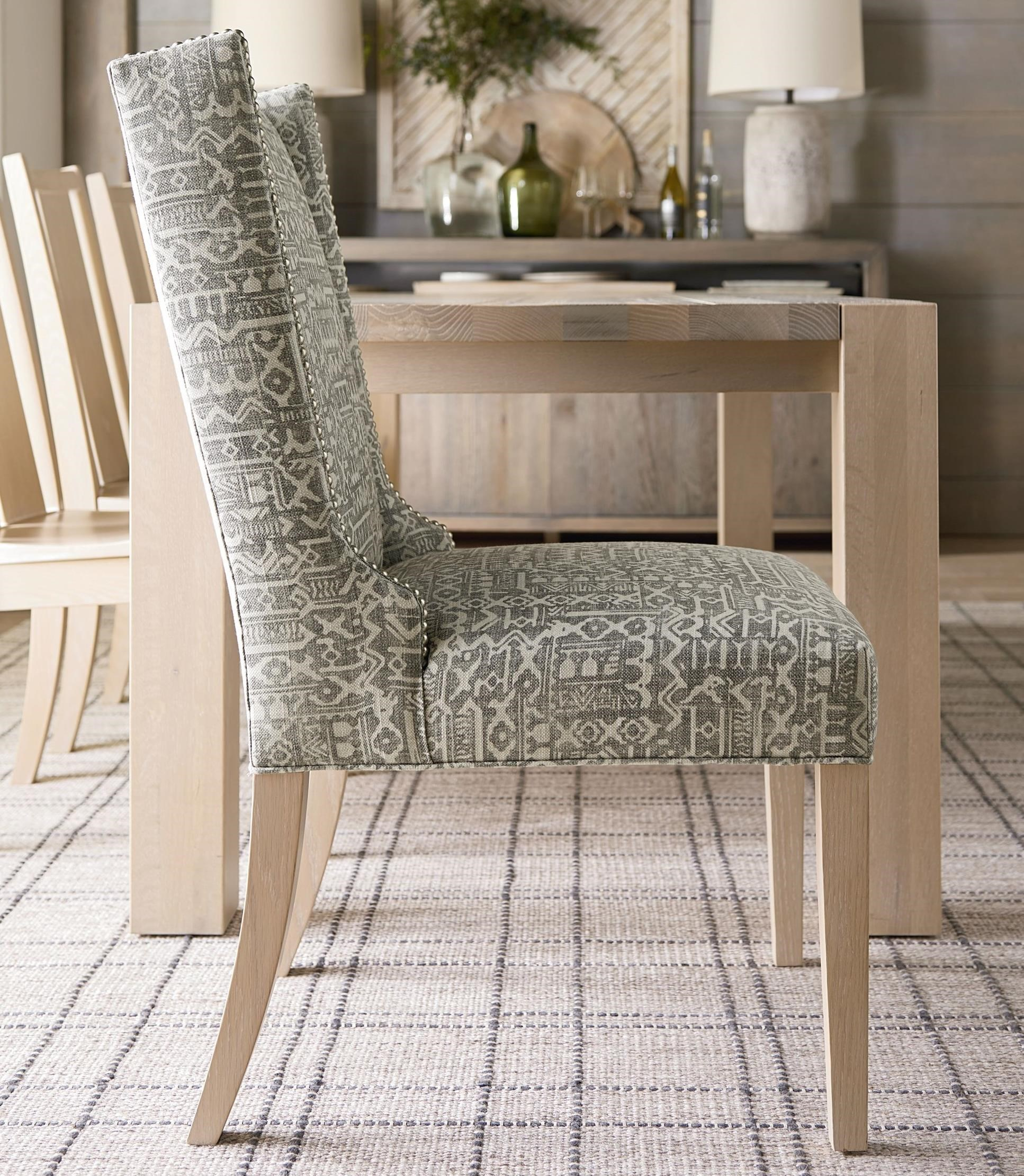Brooke Wing Back Side Chair by Bassett at Bassett of Cool Springs