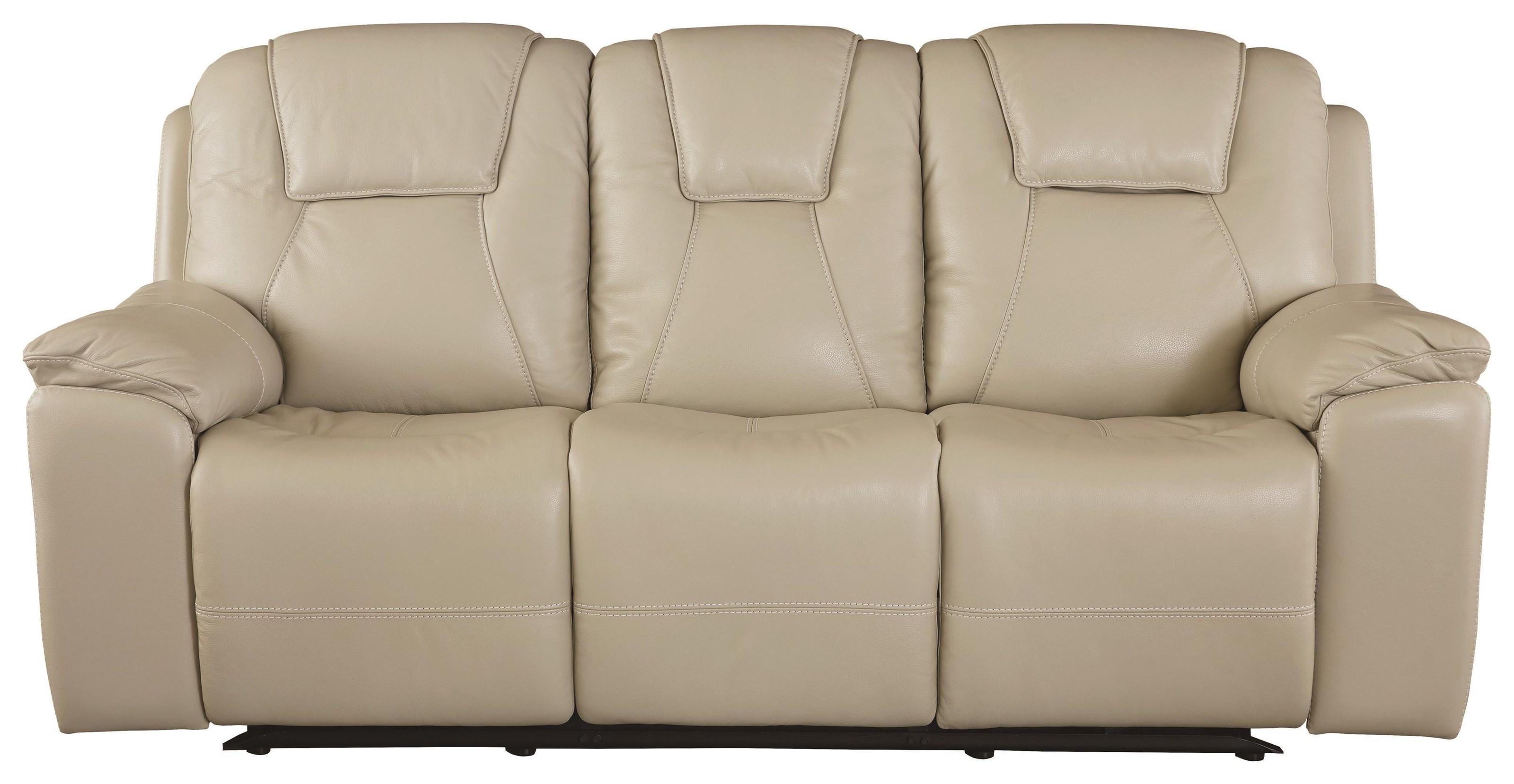 Club Level - Chandler Reclining Sofa by Bassett at Johnny Janosik