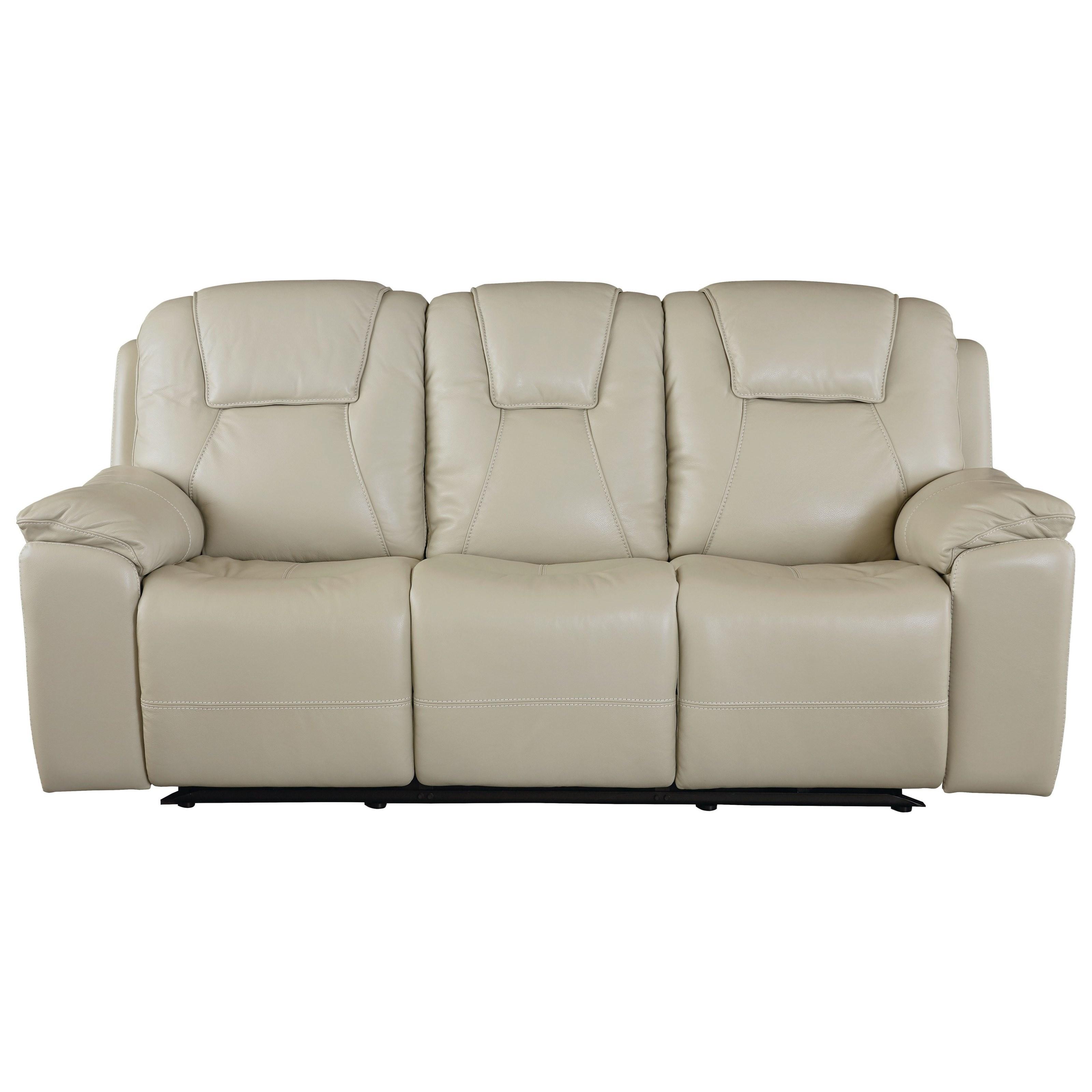 Club Level - Chandler Reclining Sofa by Bassett at Williams & Kay