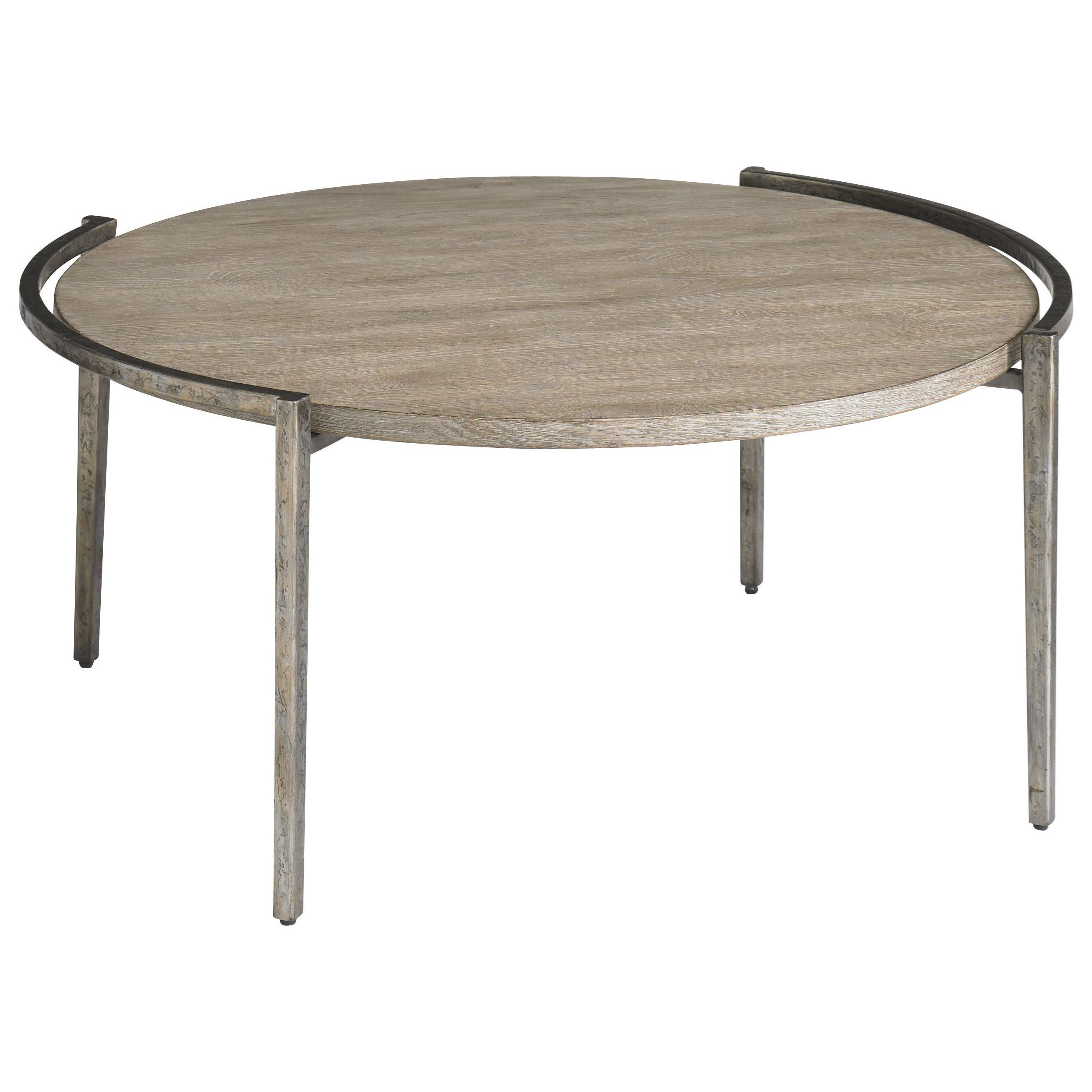 Chelsea Pier Round Cocktail Table by Bassett at Bassett of Cool Springs