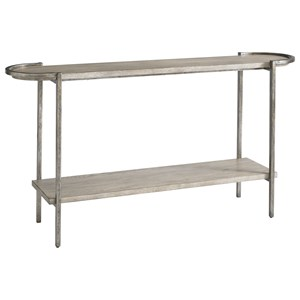 Contemporary Console Table with Shelf