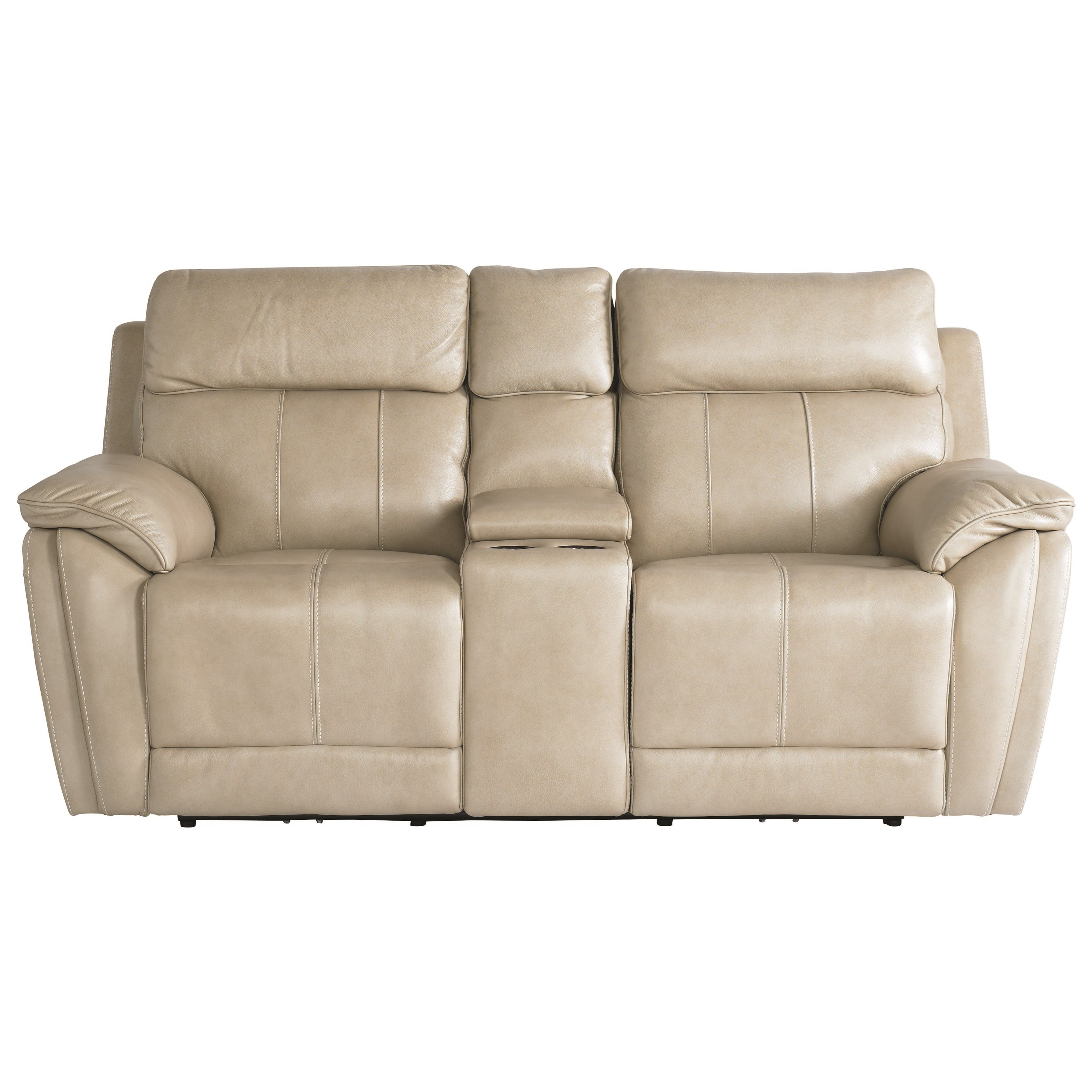 Club Level - Levitate Motion Loveseat by Bassett at Darvin Furniture