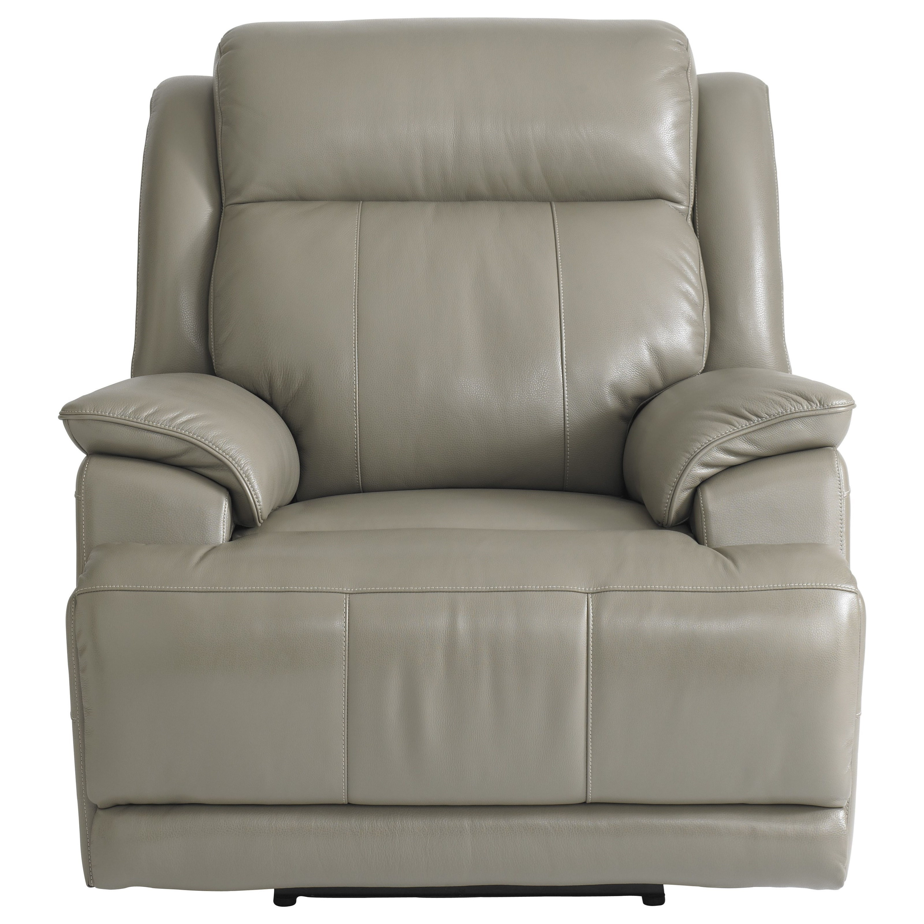 Club Level - Carson Power Lay-Flat Recliner by Bassett at Bassett of Cool Springs