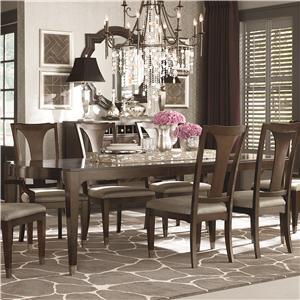 Bassett Cosmopolitan Rectangular Dining Table