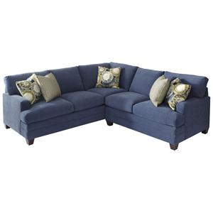 L Shaped Upholstered Sectional Group