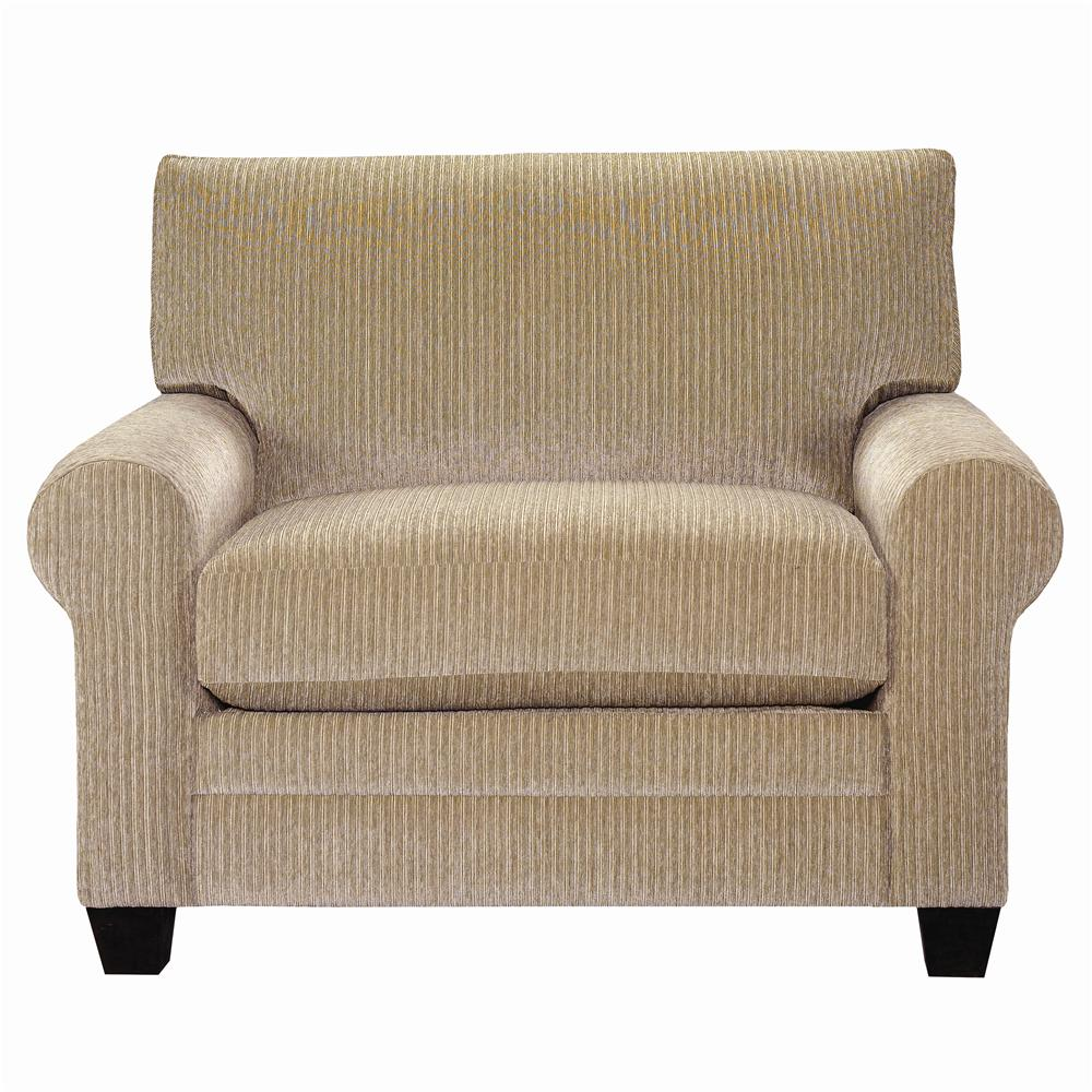 CU.2 Upholstered Chair and a Half by Bassett at Bassett of Cool Springs