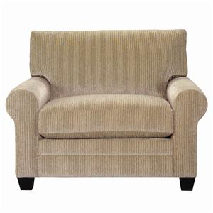 Upholstered Chair and a Half