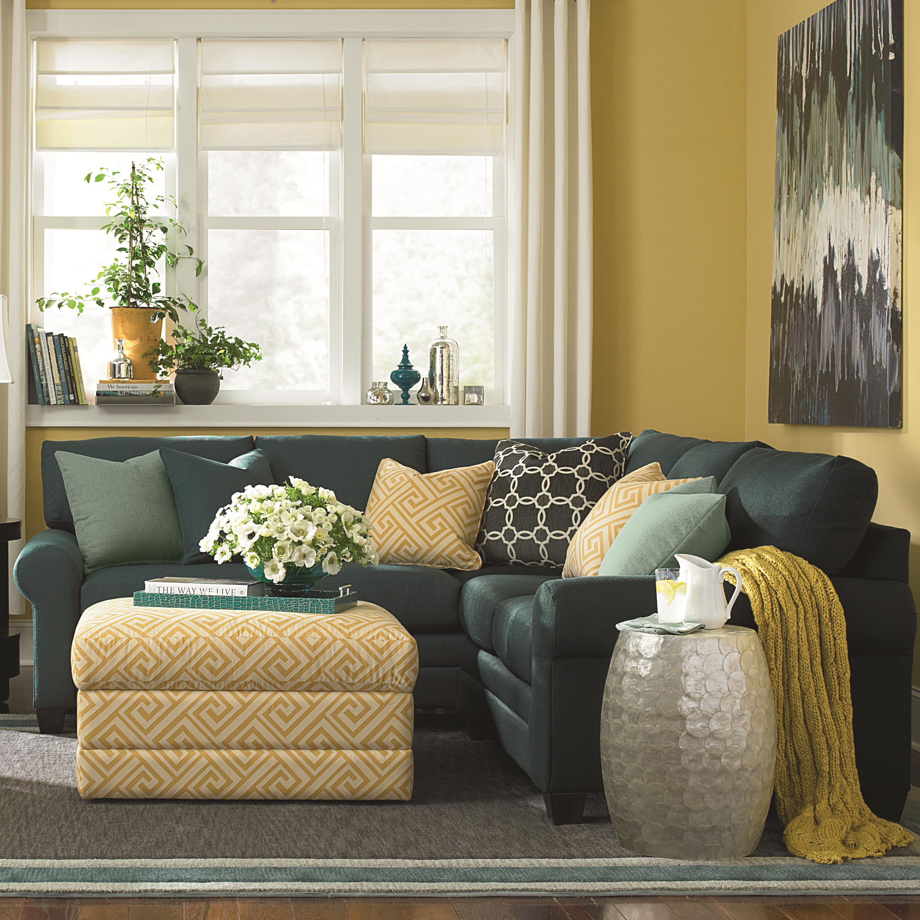 CU.2 L-Shaped Sectional Group by Bassett at Bassett of Cool Springs