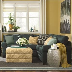 L-Shaped Upholstered Sectional Group