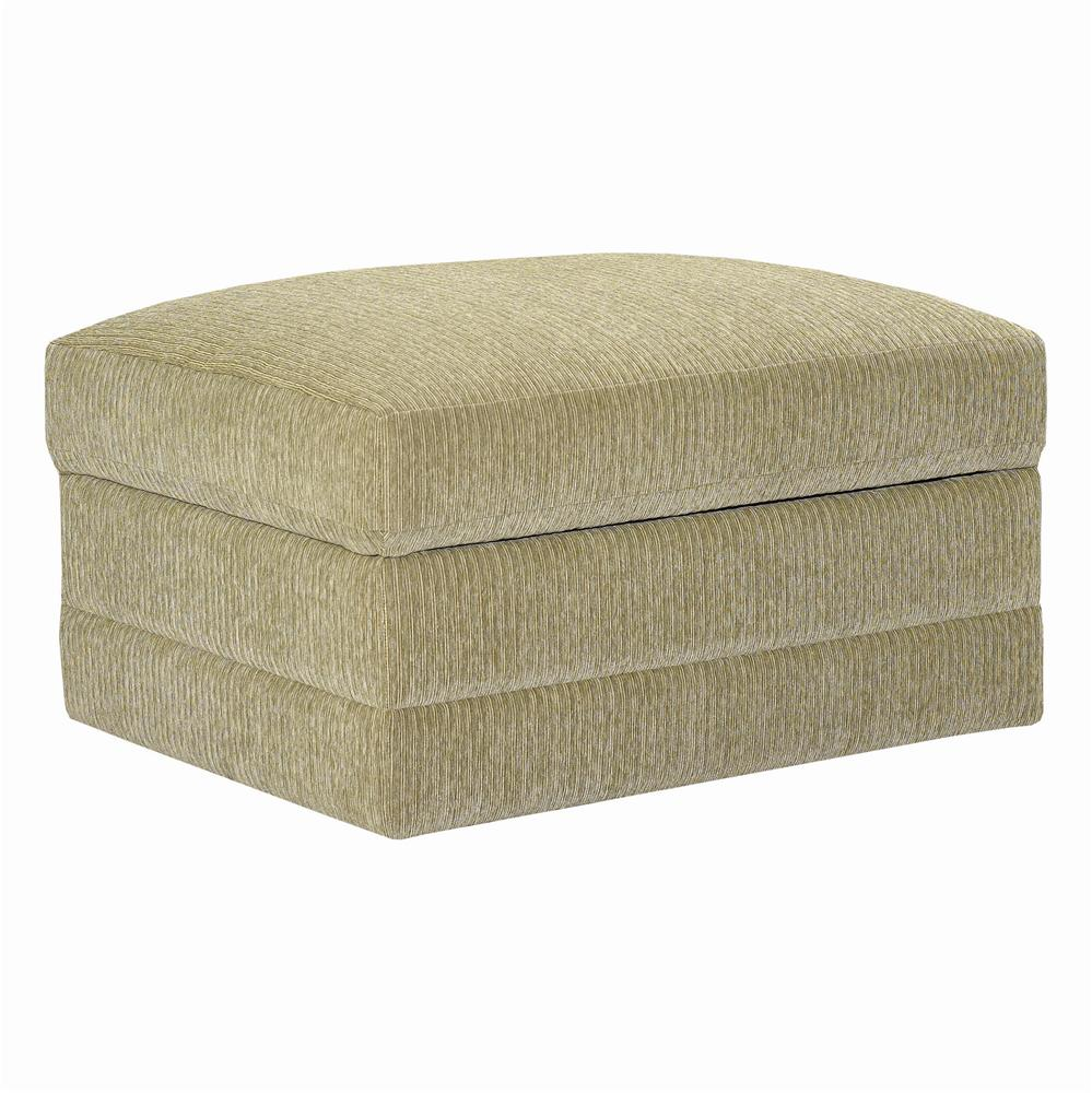 CU.2 Upholstered Stationary Ottoman by Bassett at Bassett of Cool Springs