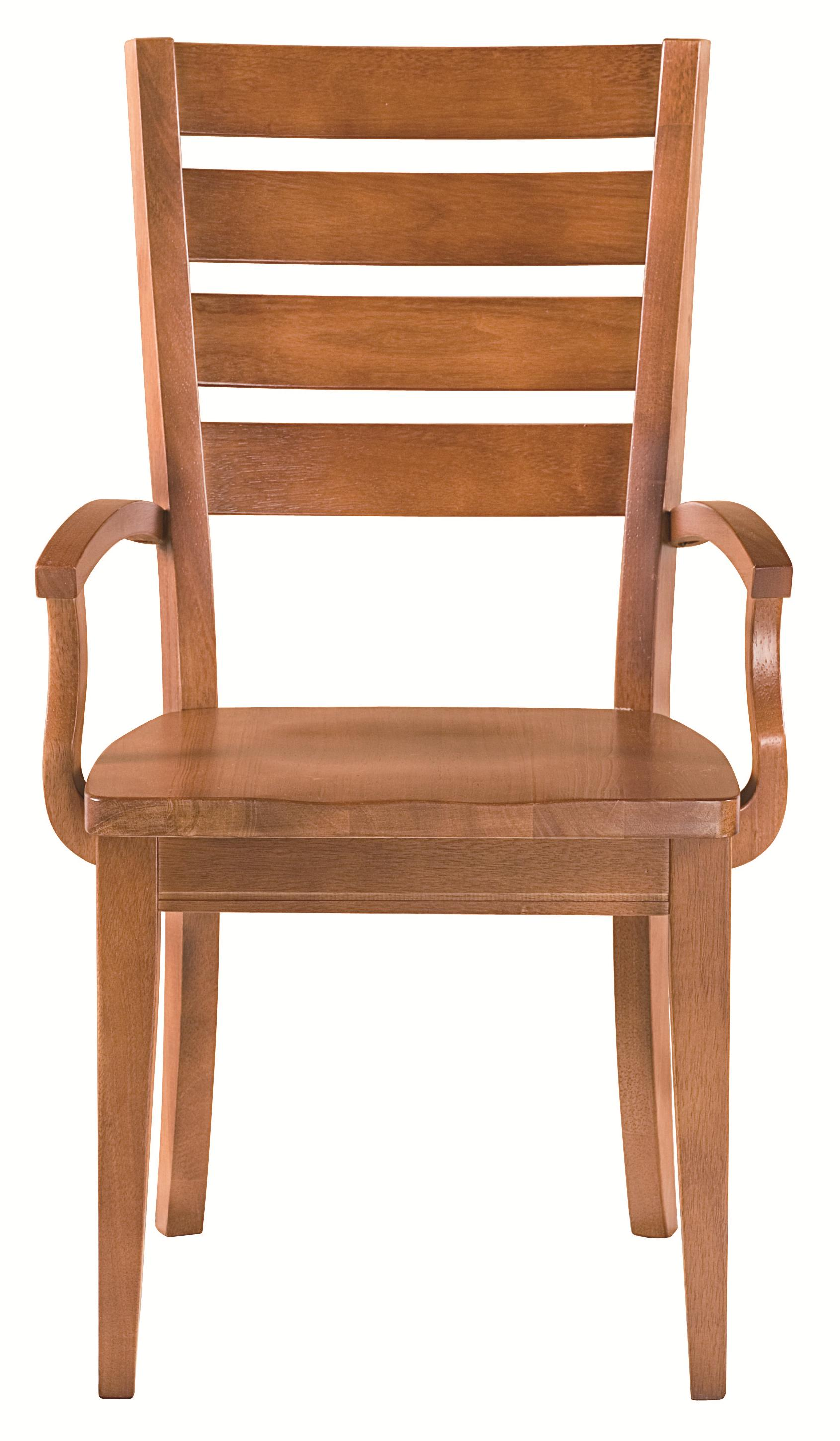 Custom Dining Low Arm Chair by Bassett at Bassett of Cool Springs
