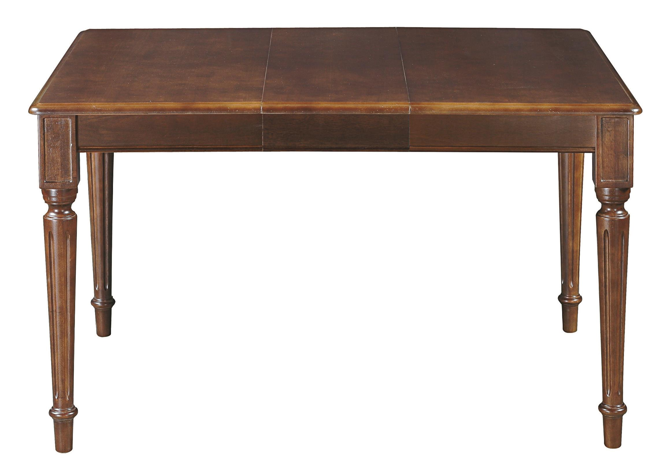 Custom Dining Customizable Square Dining Table by Bassett at Crowley Furniture & Mattress