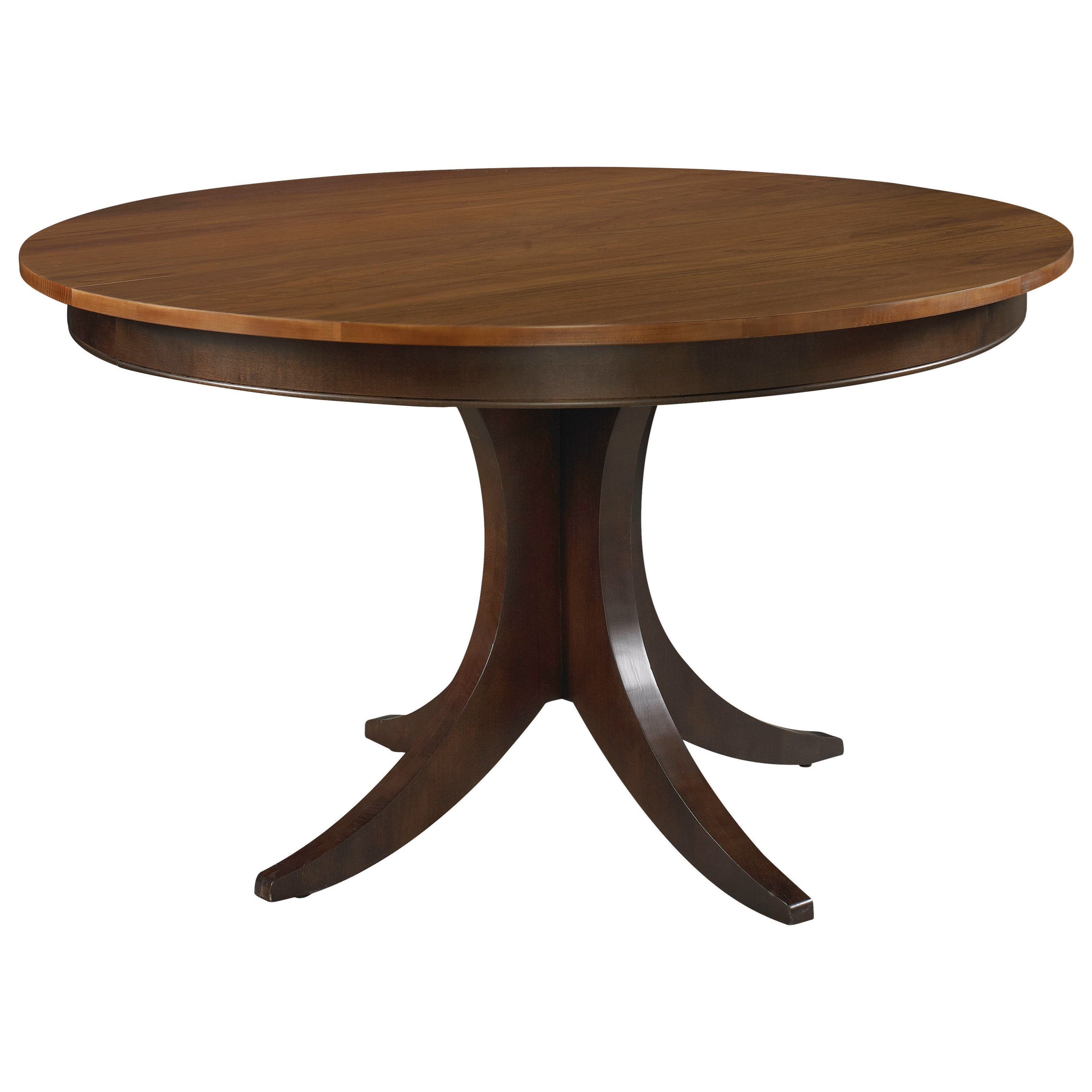 Custom Dining Customizable Round Pedestal Table by Bassett at Bassett of Cool Springs
