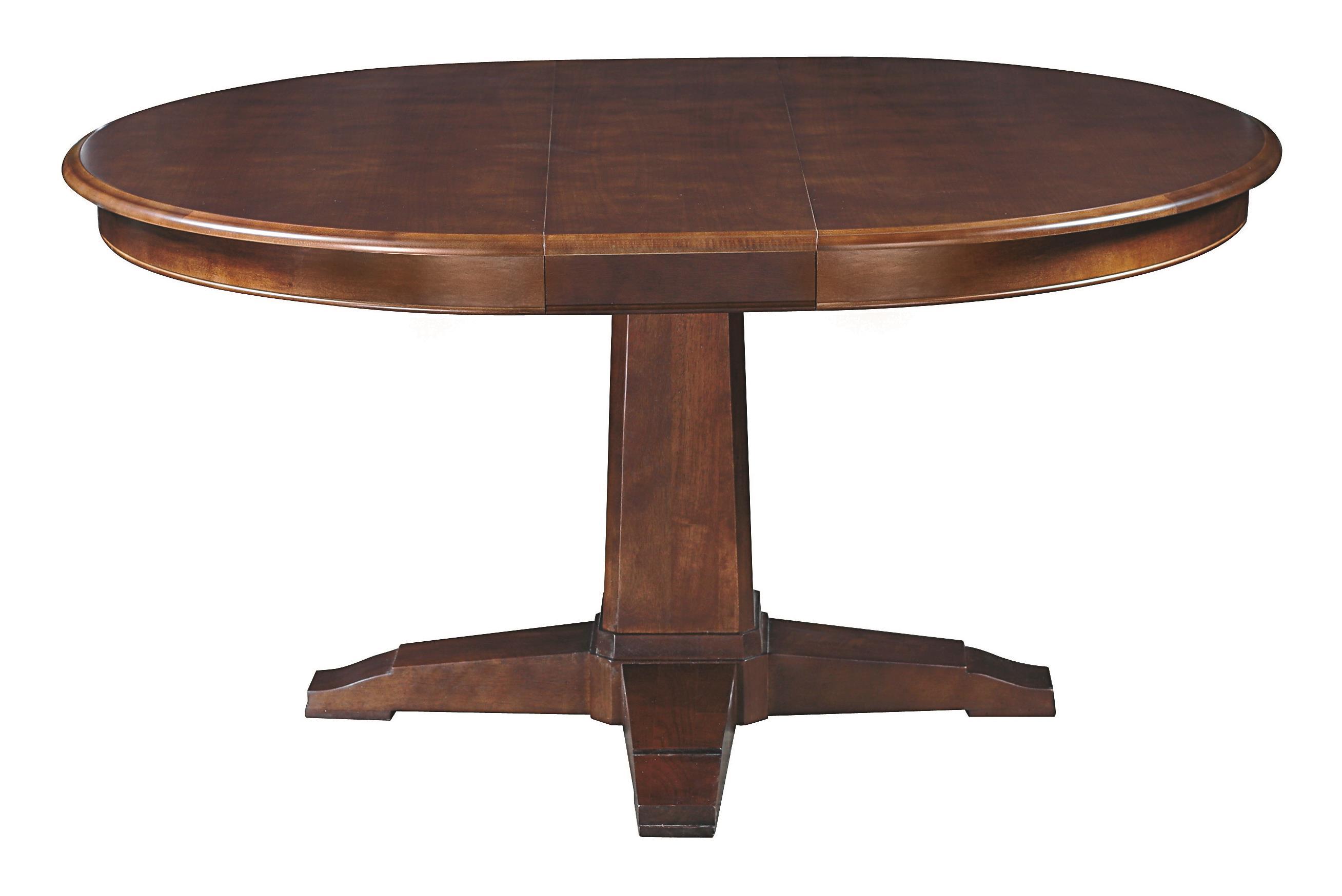 Custom Dining Customizable Round Pedestal Table by Bassett at Bassett of Cool Springs