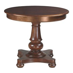 <b>Customizable</b> Round Pedestal Dining Table