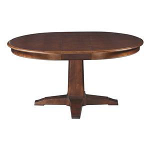 Customizable Round Pedestal Table