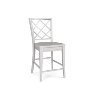 Wood Dining Counter Stool