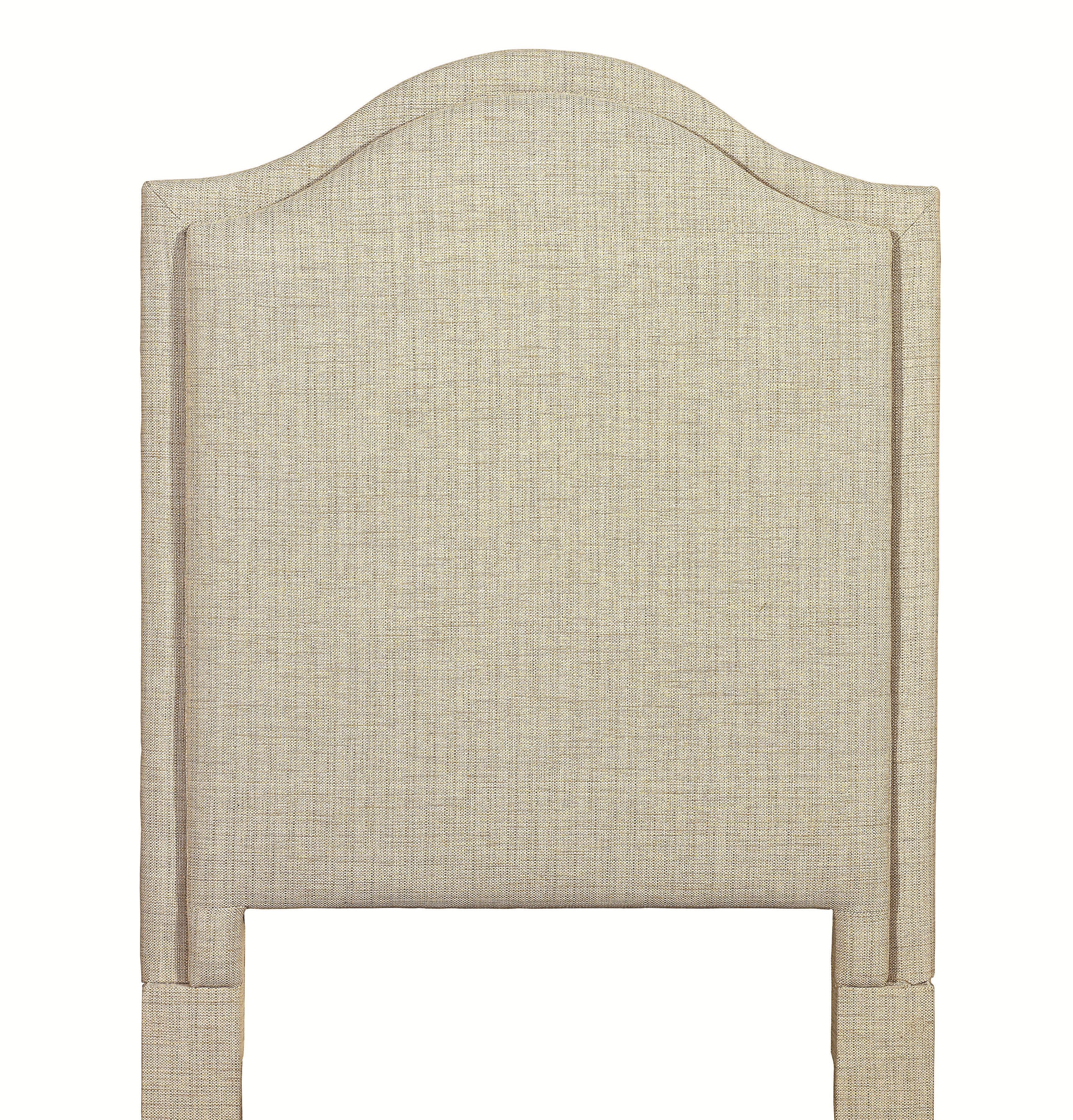 Custom Upholstered Beds Twin Vienna Upholstered Headboard by Bassett at Bassett of Cool Springs