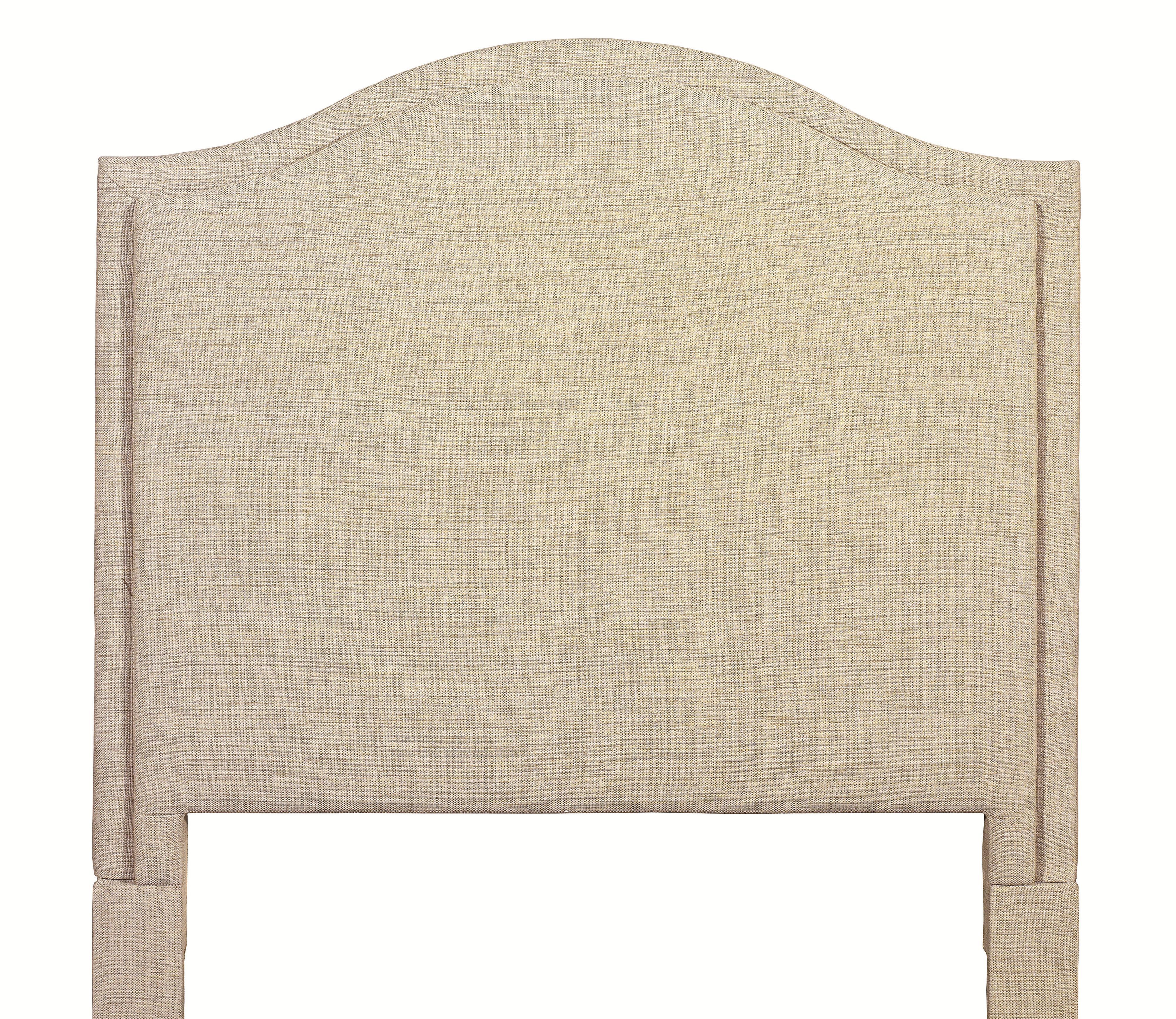 Custom Upholstered Beds Full Vienna Upholstered Headboard by Bassett at Bassett of Cool Springs