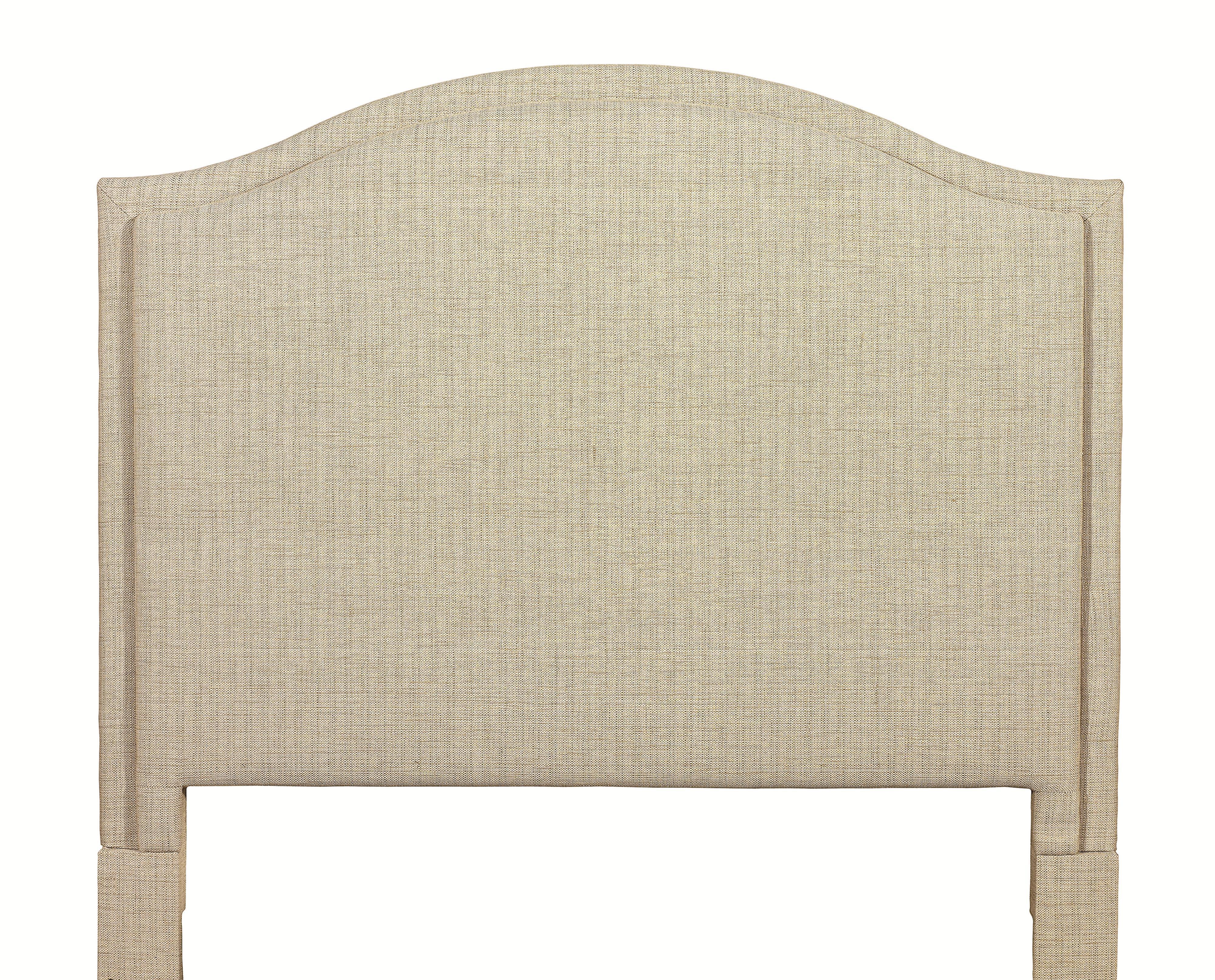 Custom Upholstered Beds Queen Vienna Upholstered Headboard by Bassett at Bassett of Cool Springs