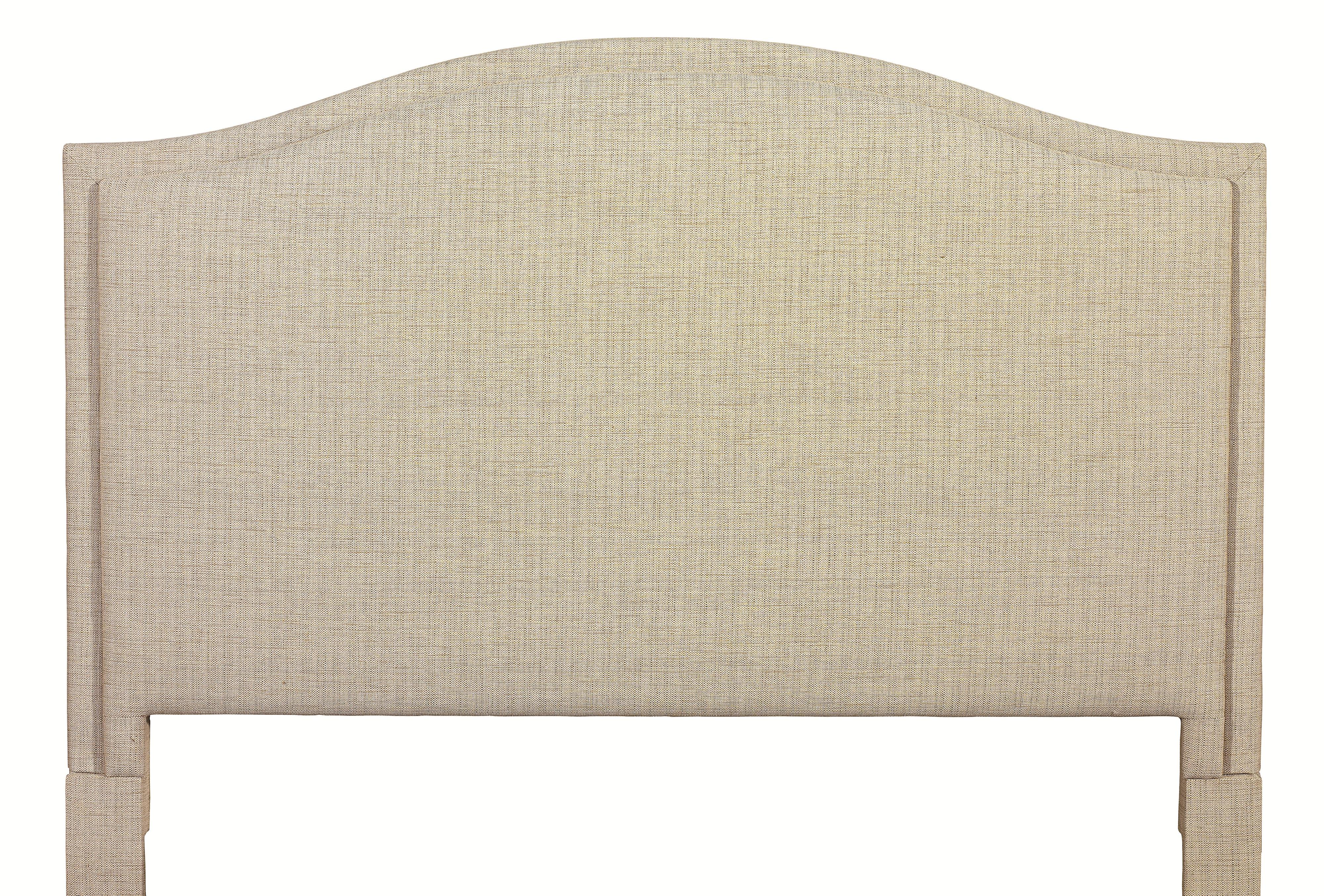 Custom Upholstered Beds King Vienna Upholstered Headboard by Bassett at Bassett of Cool Springs
