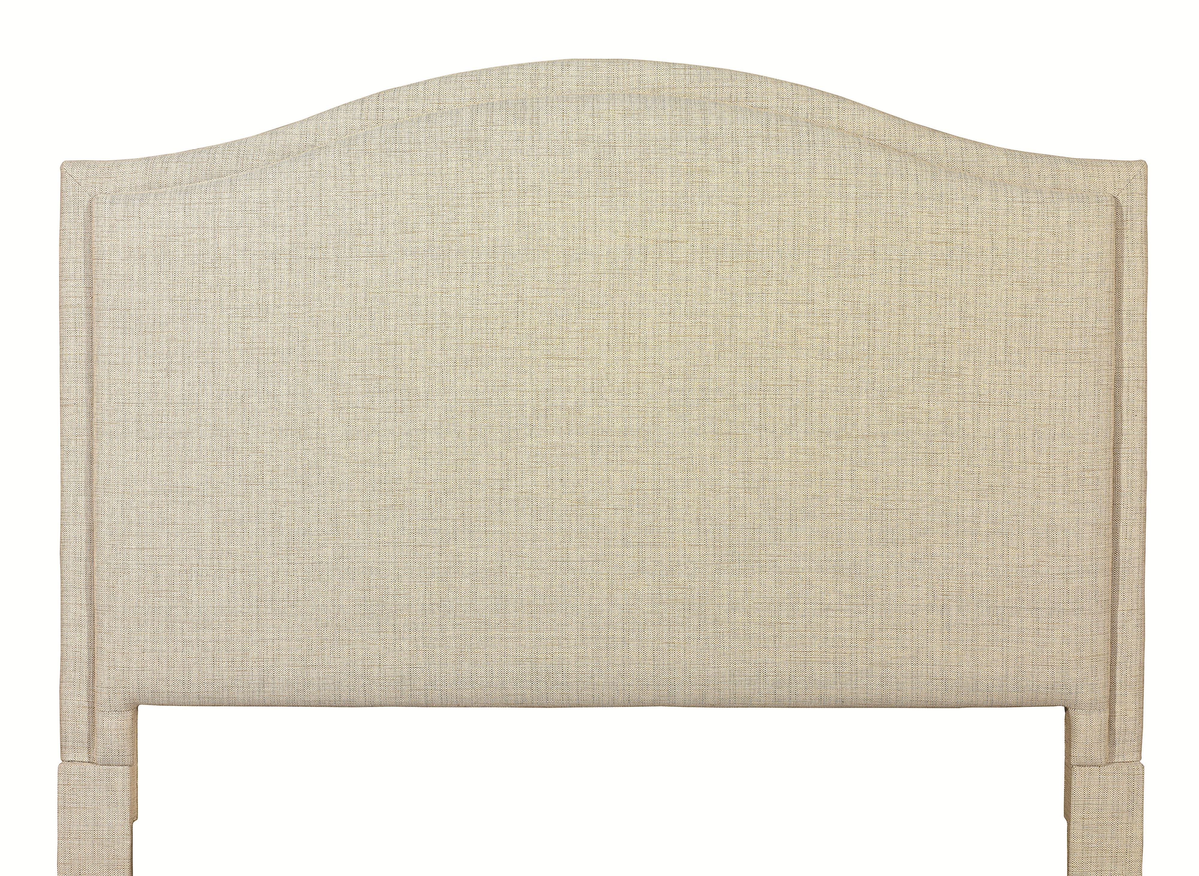 Custom Upholstered Beds California King Vienna Upholstered Headboard by Bassett at Bassett of Cool Springs