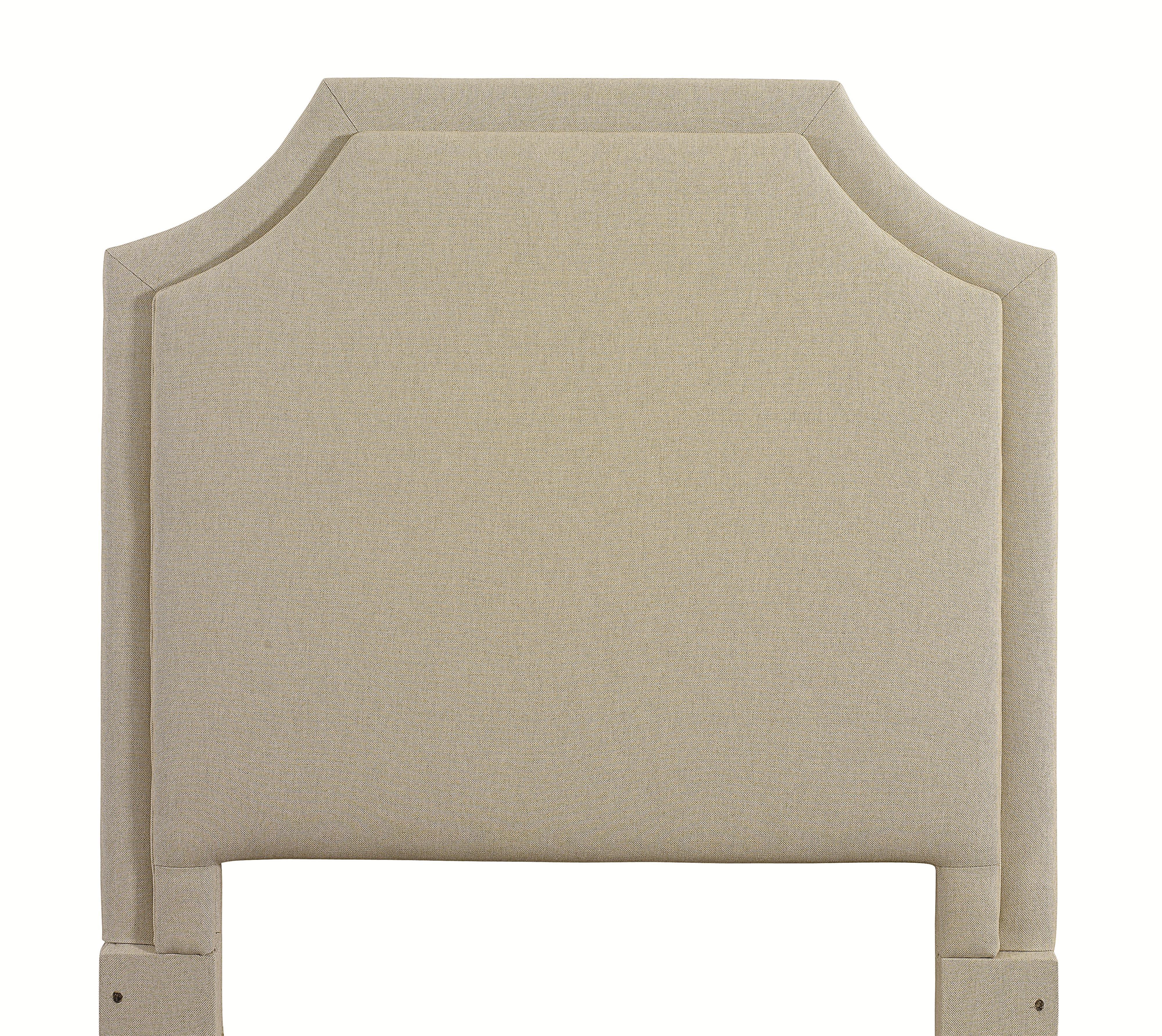 Custom Upholstered Beds King Florence Upholstered Headboard by Bassett at Crowley Furniture & Mattress