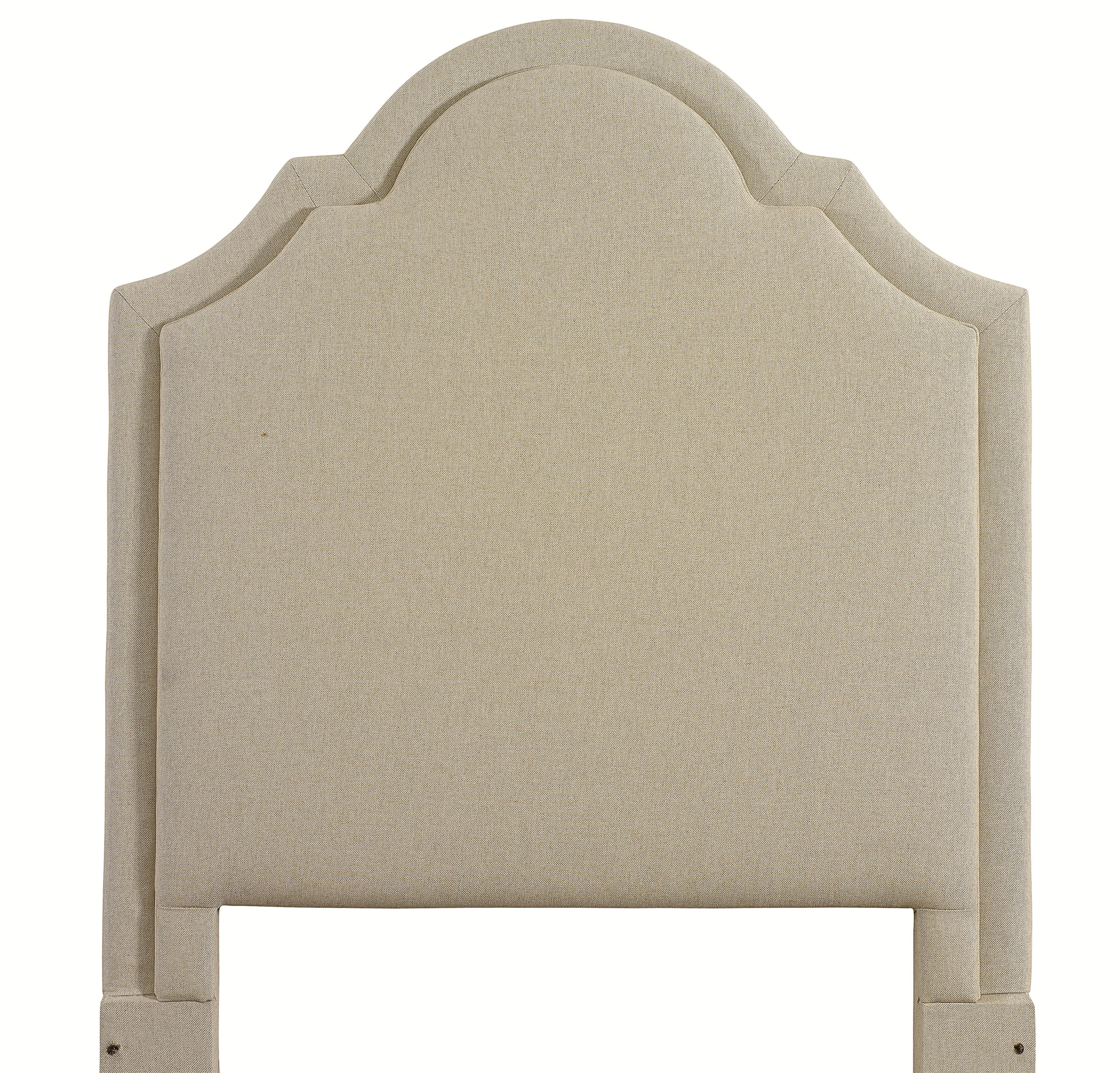 Custom Upholstered Beds Twin Barcelona Upholstered Headboard by Bassett at Bassett of Cool Springs