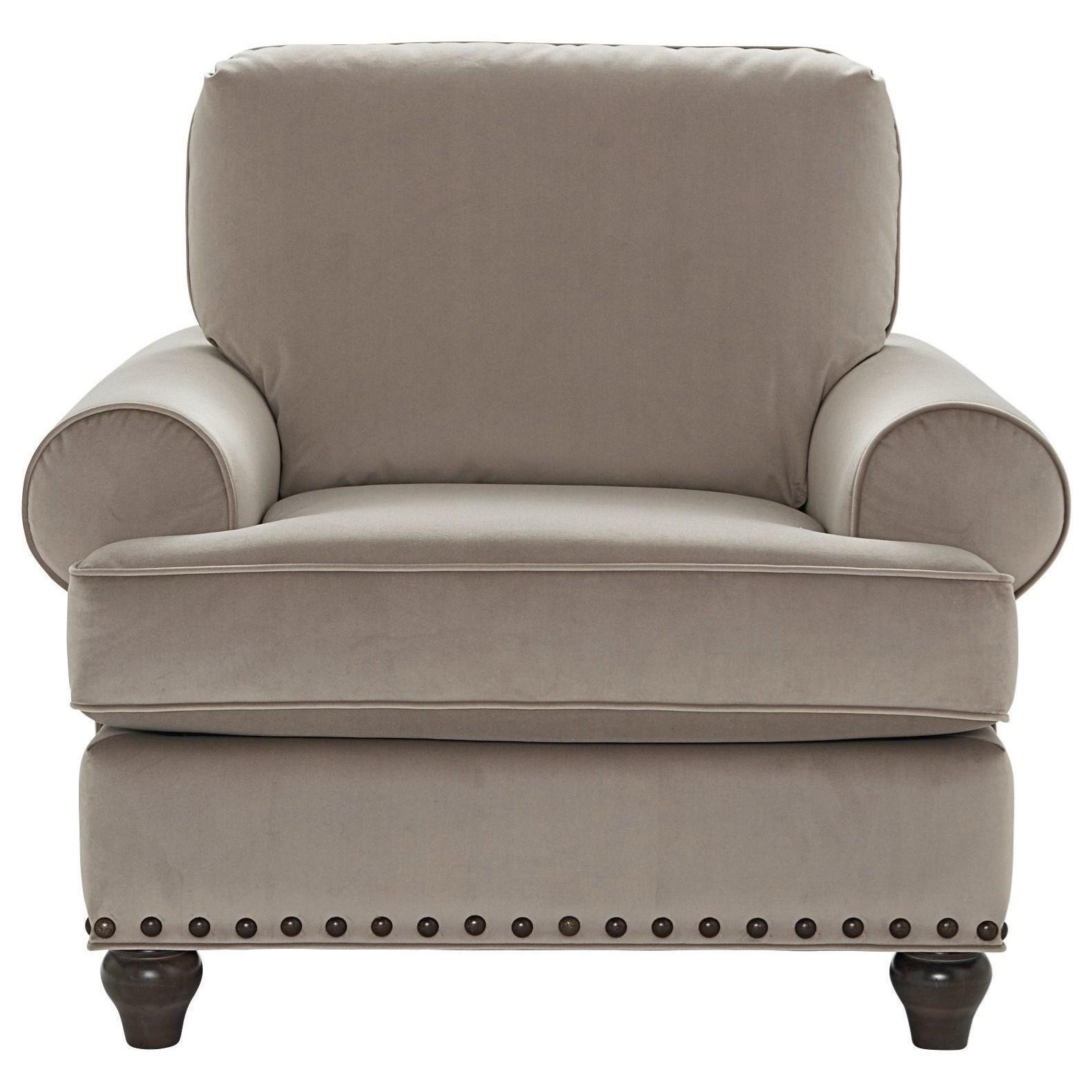Custom Upholstery Customizable Chair by Bassett at Bassett of Cool Springs