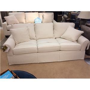 "Custom Design 90"" Sofa with Sock Arm"