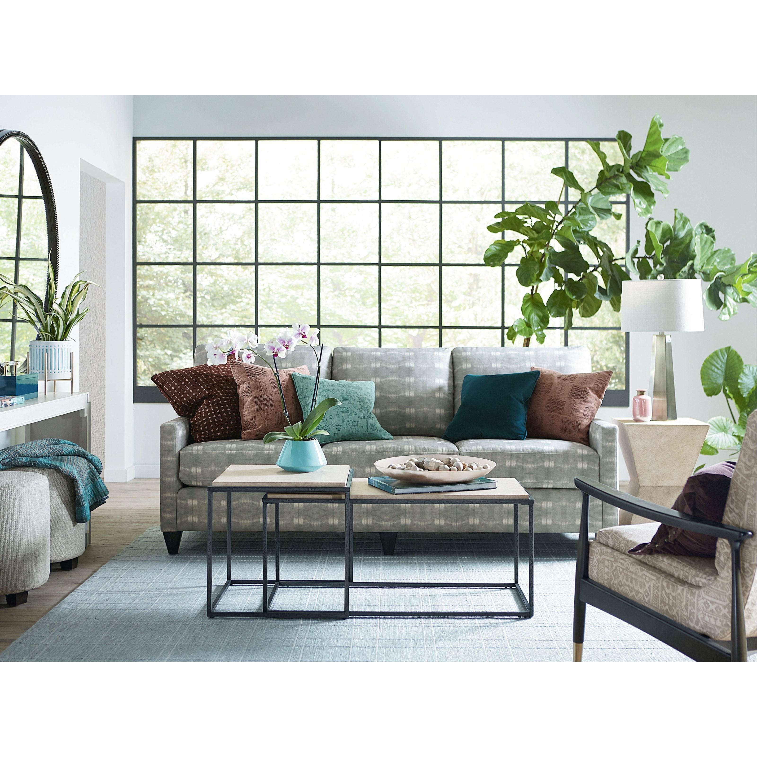 Custom Upholstery Customizable Great Room Sofa by Bassett at Bassett of Cool Springs