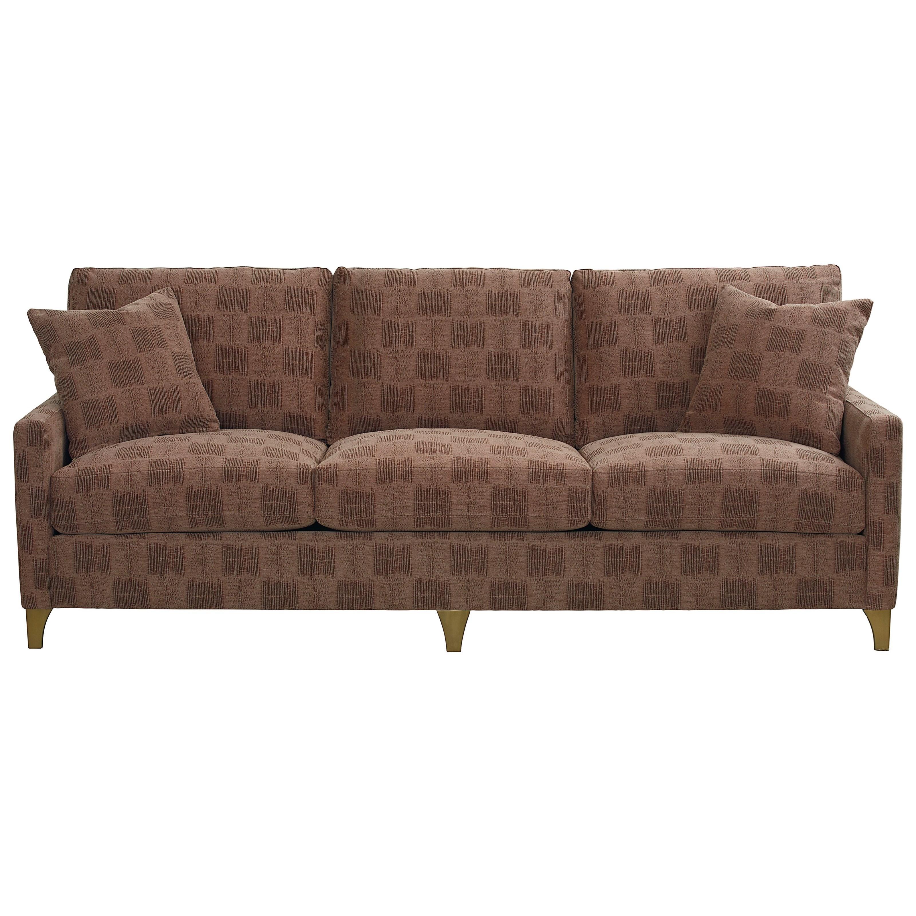 Custom Upholstery Customizable Grand Sofa by Bassett at Bassett of Cool Springs