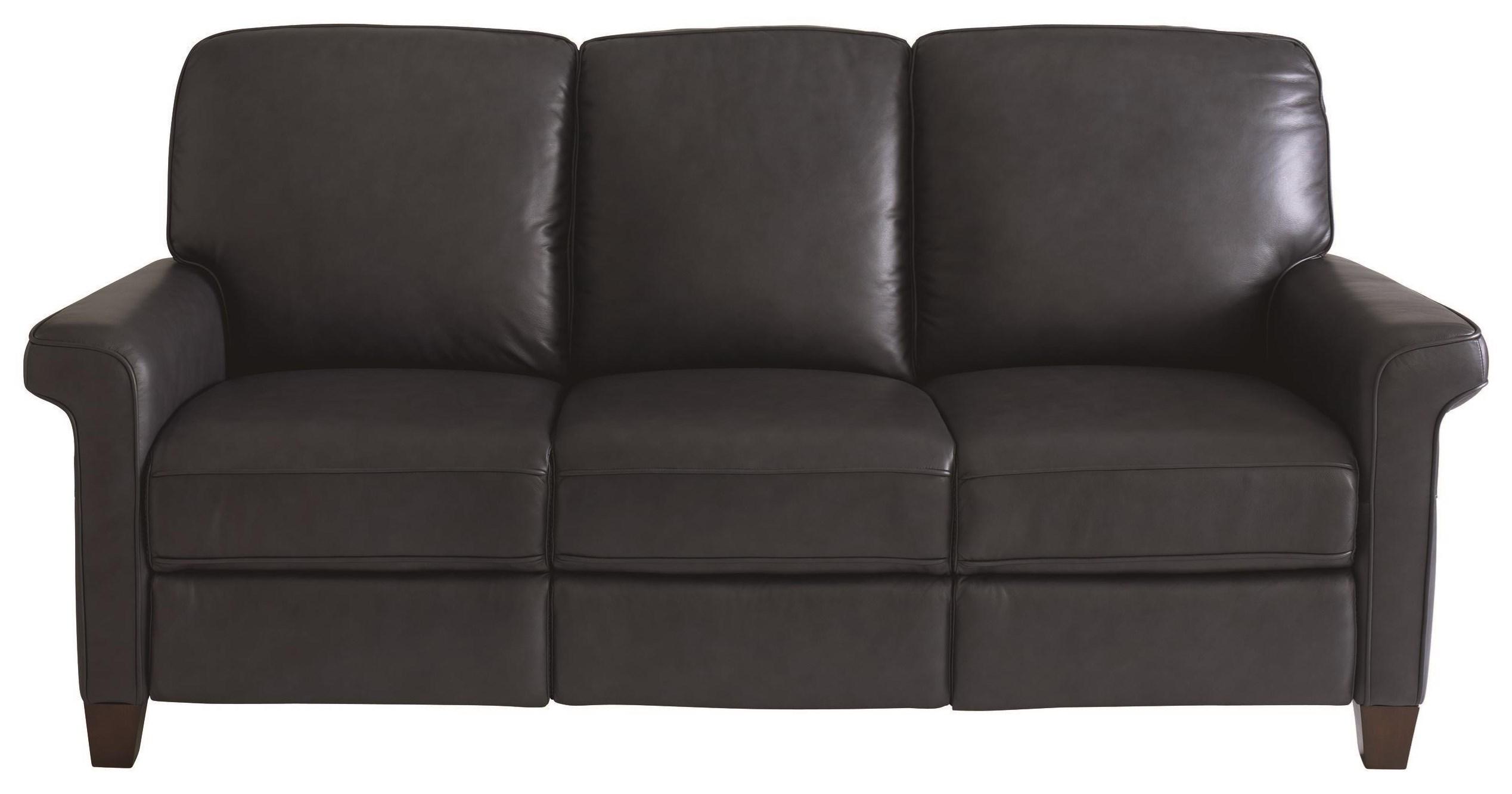 Dixon Power Reclining Sofa by Bassett at Johnny Janosik