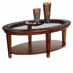 Bassett Easton Oval Cocktail Table