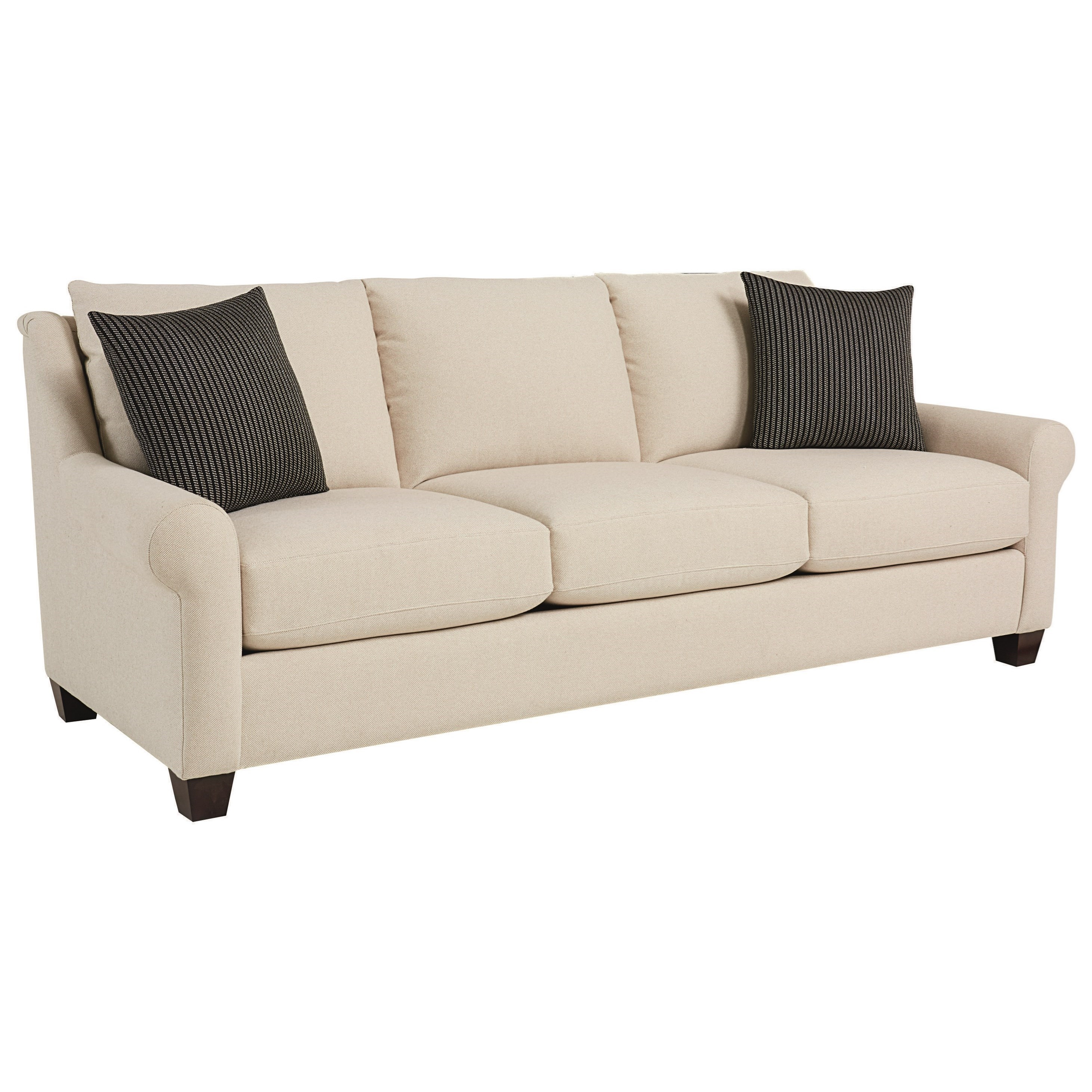 "Ellery 93"" Great Room Sofa by Bassett at Bassett of Cool Springs"