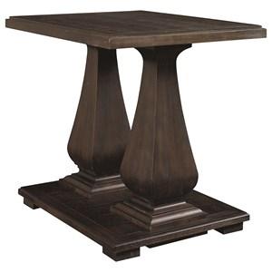 Pedastal End Table
