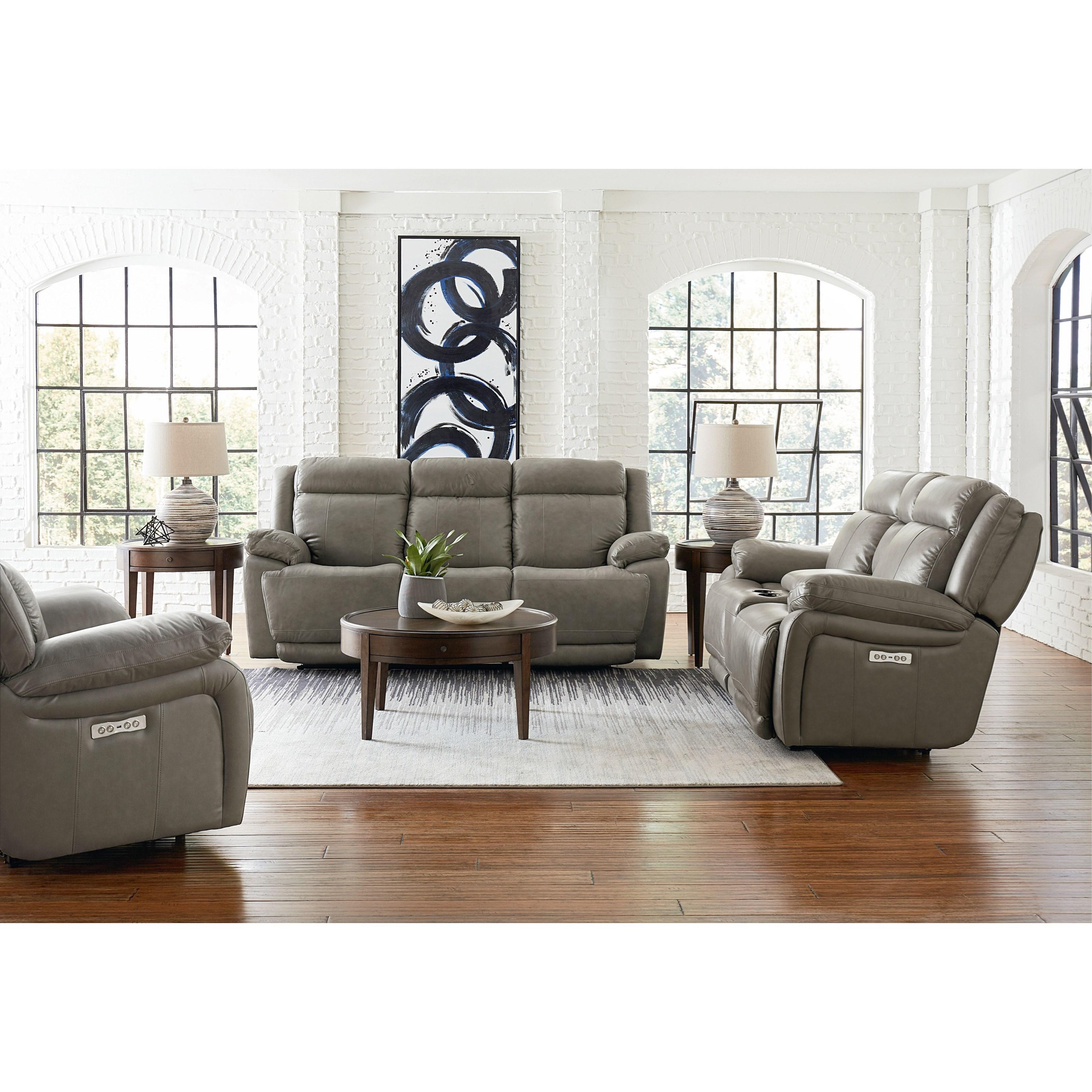 Evo Reclining Living Room Group by Bassett at Bassett of Cool Springs