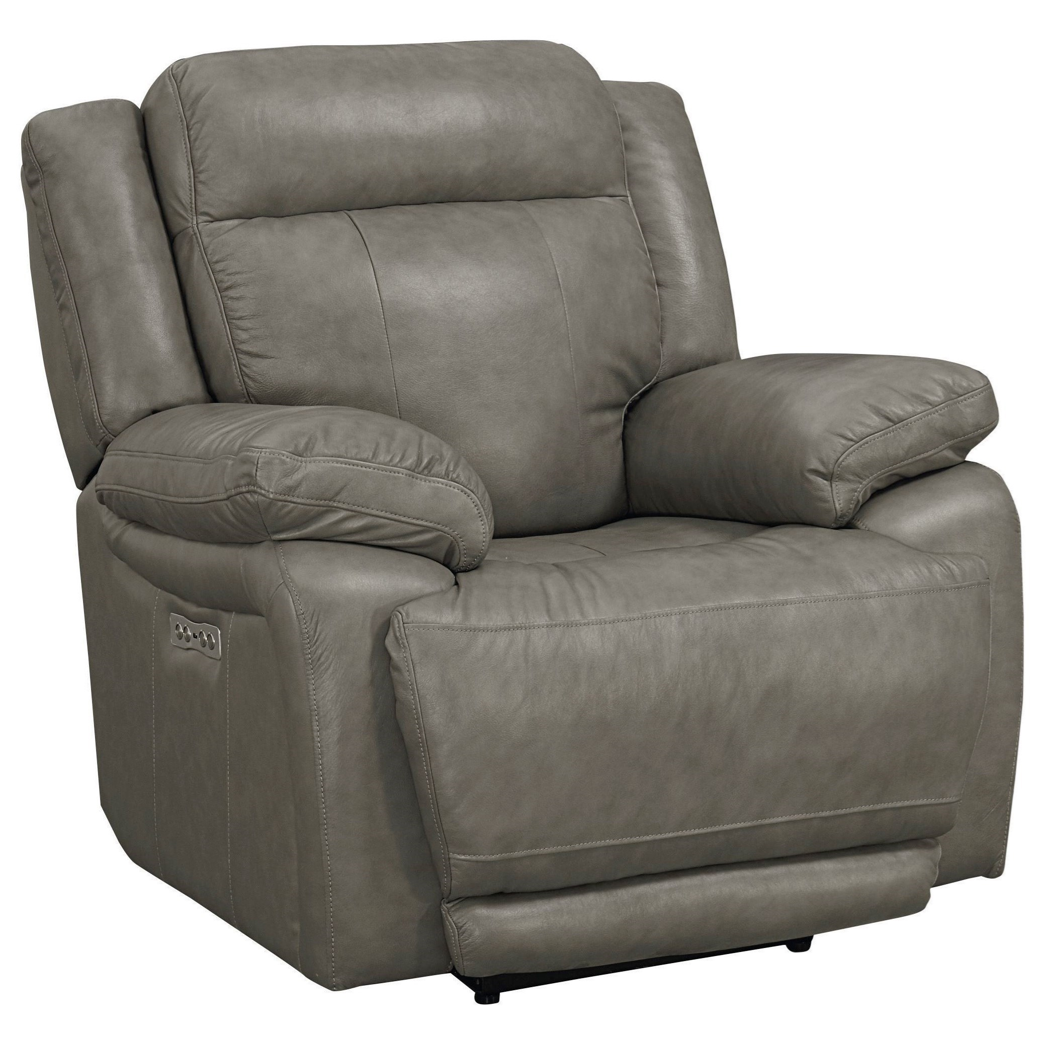 Evo Power Headrest Wall Saver Recliner by Bassett at H.L. Stephens