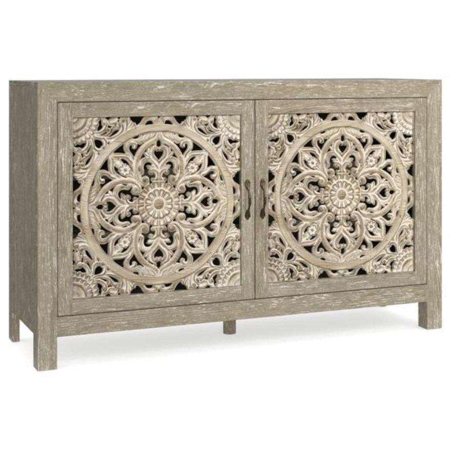 Fusion Two Door Cabinet by Bassett at Bassett of Cool Springs