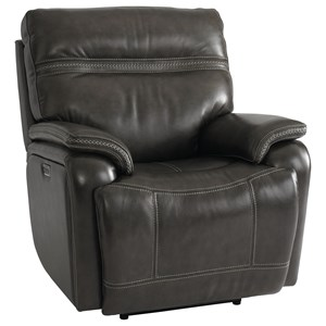 Casual Power Wallsaver Recliner with Power Headrest, Lumbar and USB Port