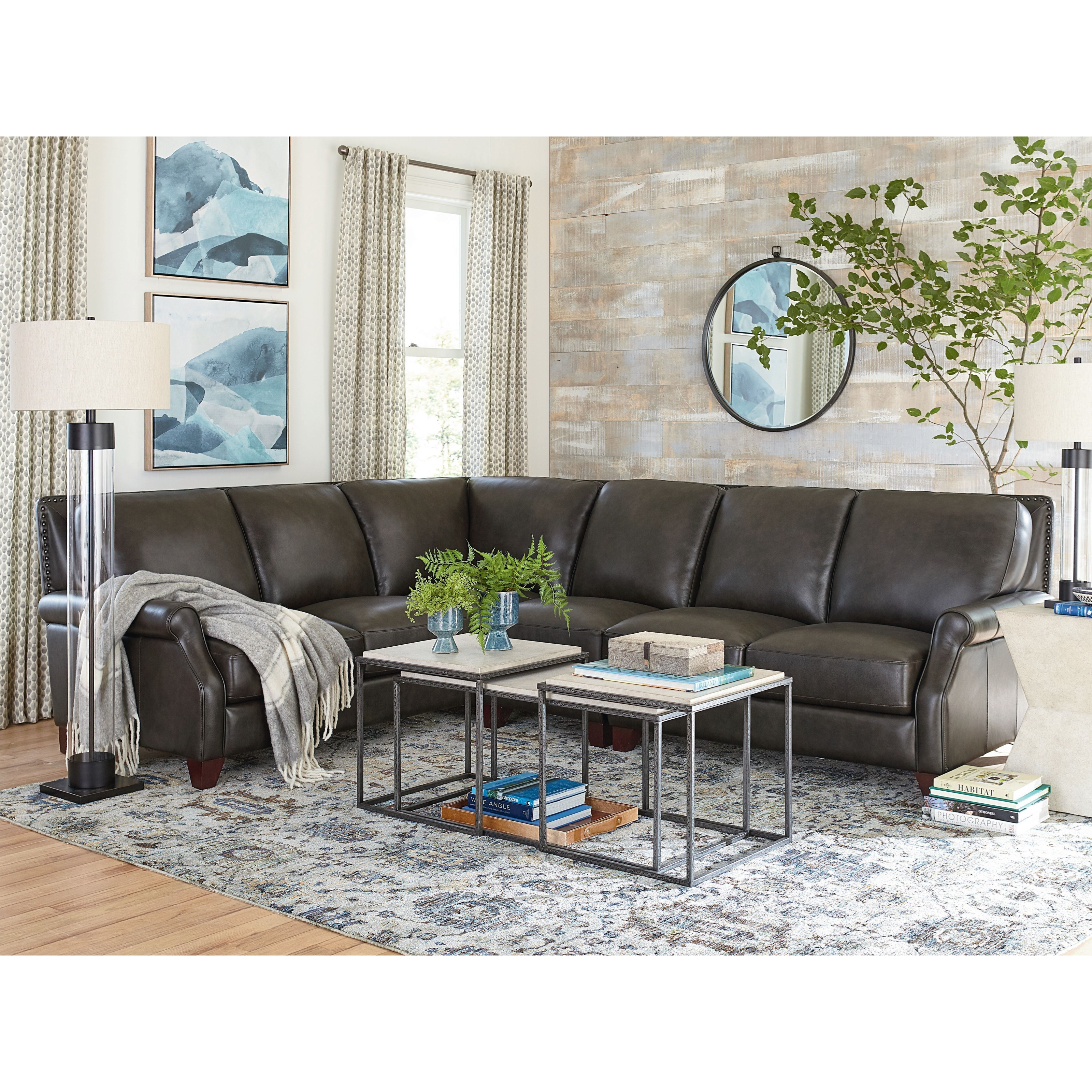 Greyson Sectional by Bassett at Bassett of Cool Springs