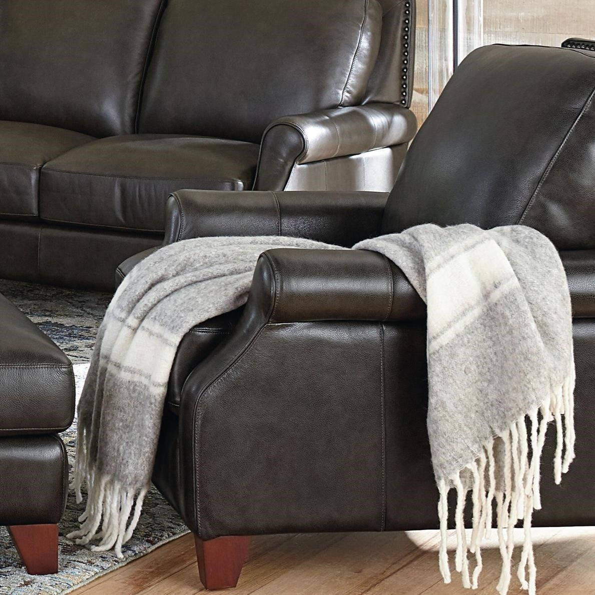 Greyson Recliner by Bassett at Wilcox Furniture