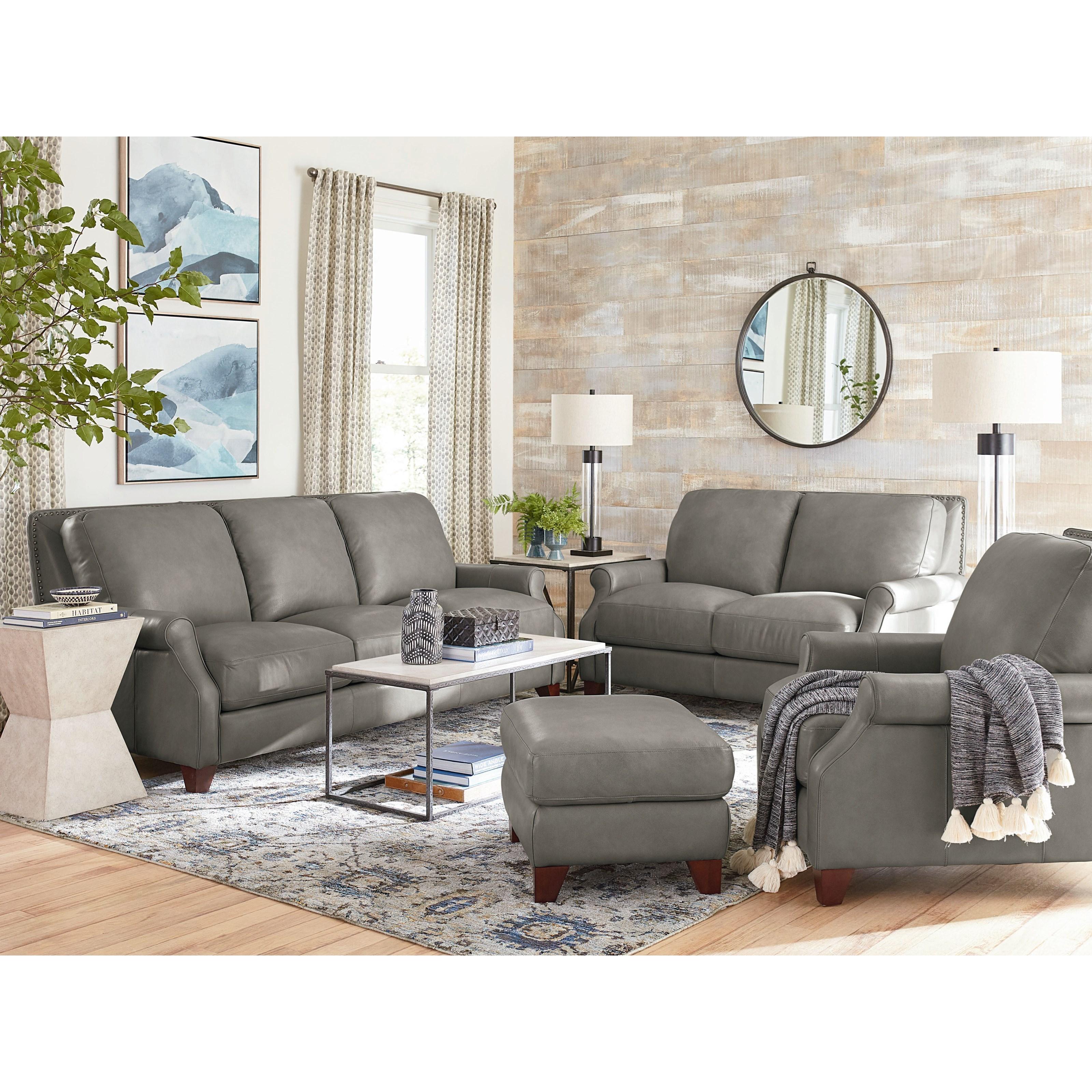 Greyson Living Room Group Bassett Greyson by Bassett at Crowley Furniture & Mattress
