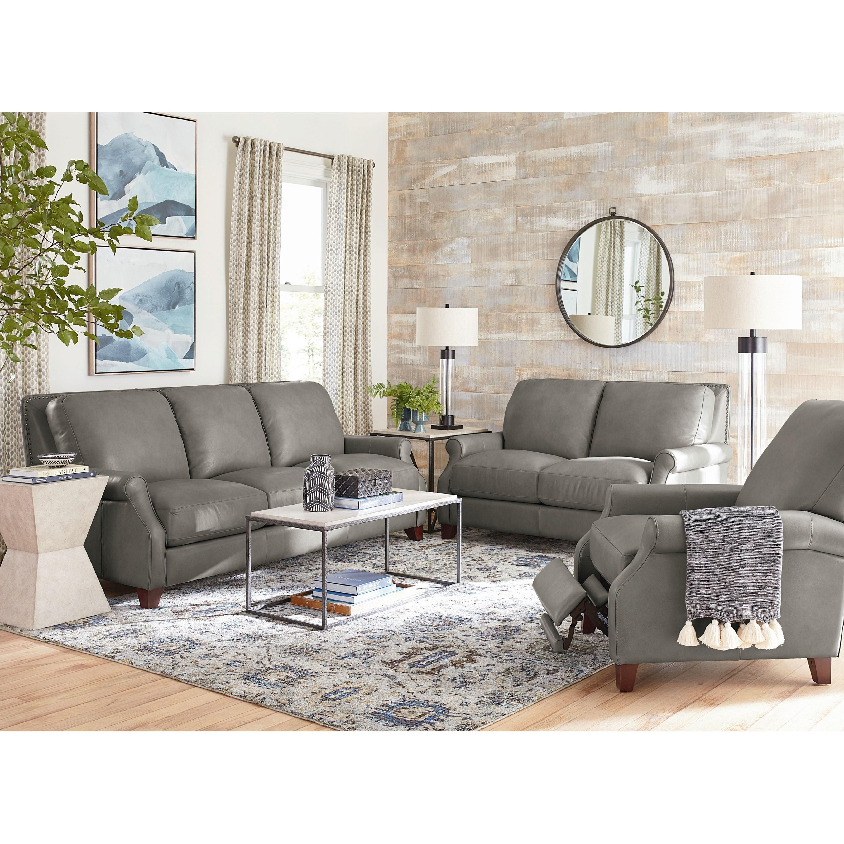 Greyson Living Room Group by Bassett at Bassett of Cool Springs