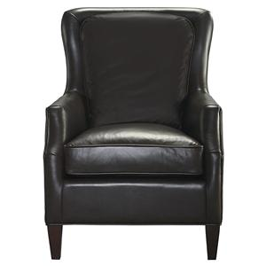 Transitional Den Room Accent Chair