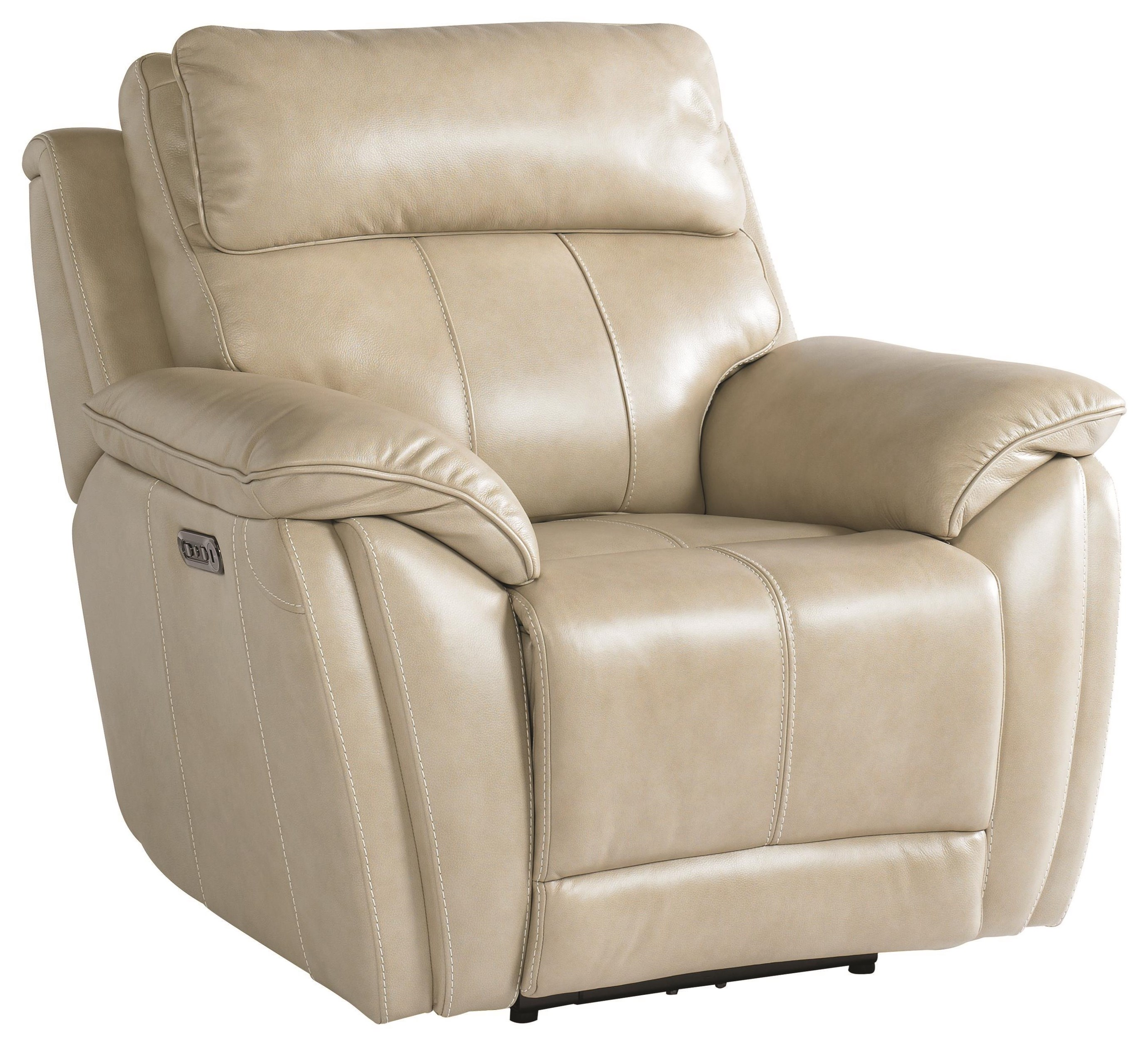 Levitate Recliner With Power Headrest by Bassett at Johnny Janosik