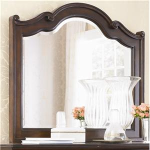 Bassett Louis-Philippe Carved Mirror