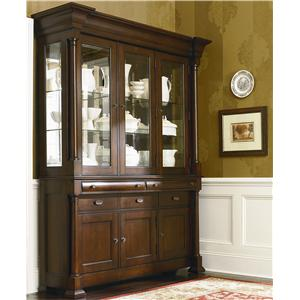 Bassett Louis-Philippe Complete China with Wood Top