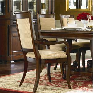 Bassett Louis-Philippe Arm Chair - Fabric