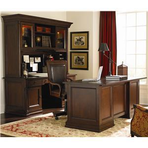 Bassett Louis-Philippe Desk & Hutch Office